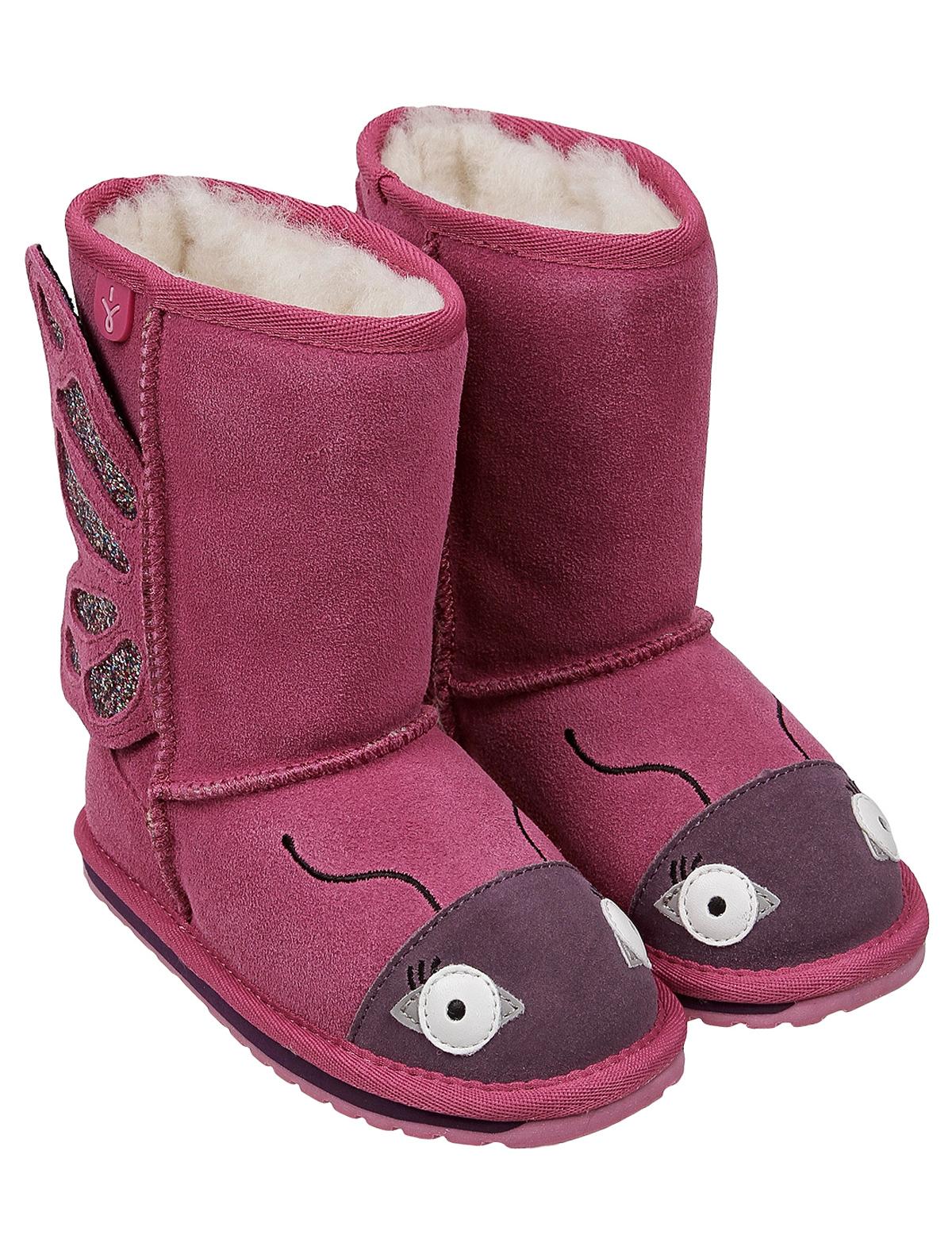 2255629, Сапоги Emu Australia, розовый, Женский, 2024509082105  - купить со скидкой