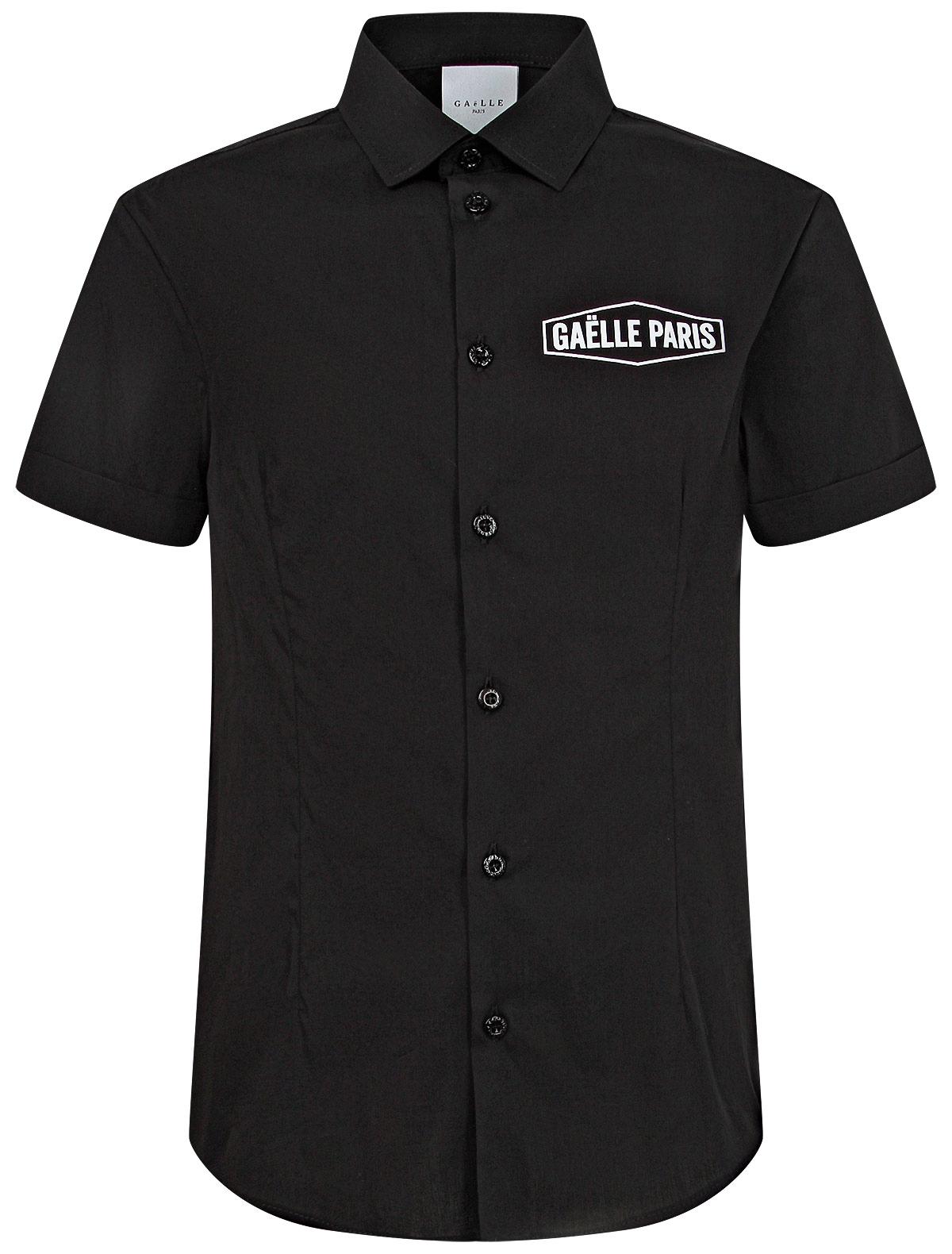 Купить 2203148, Рубашка GAELLE, черный, Мужской, 1014519072068