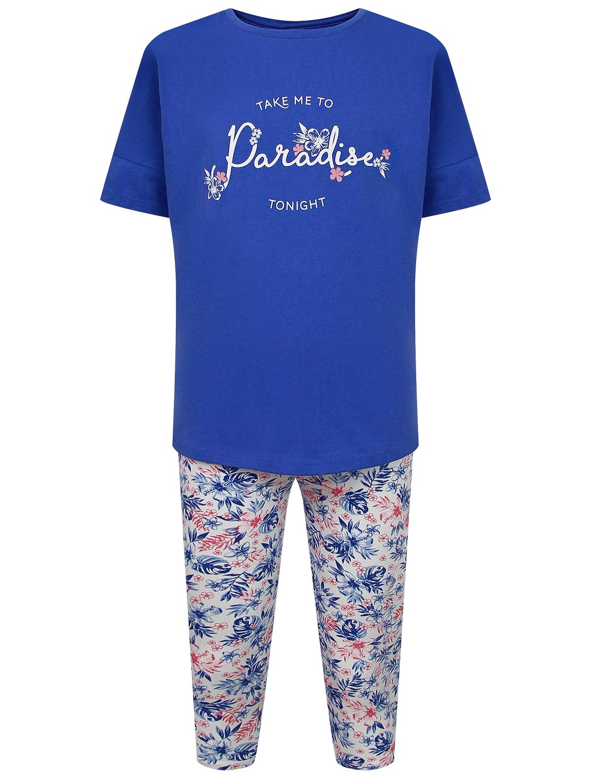Пижама Sanetta синего цвета