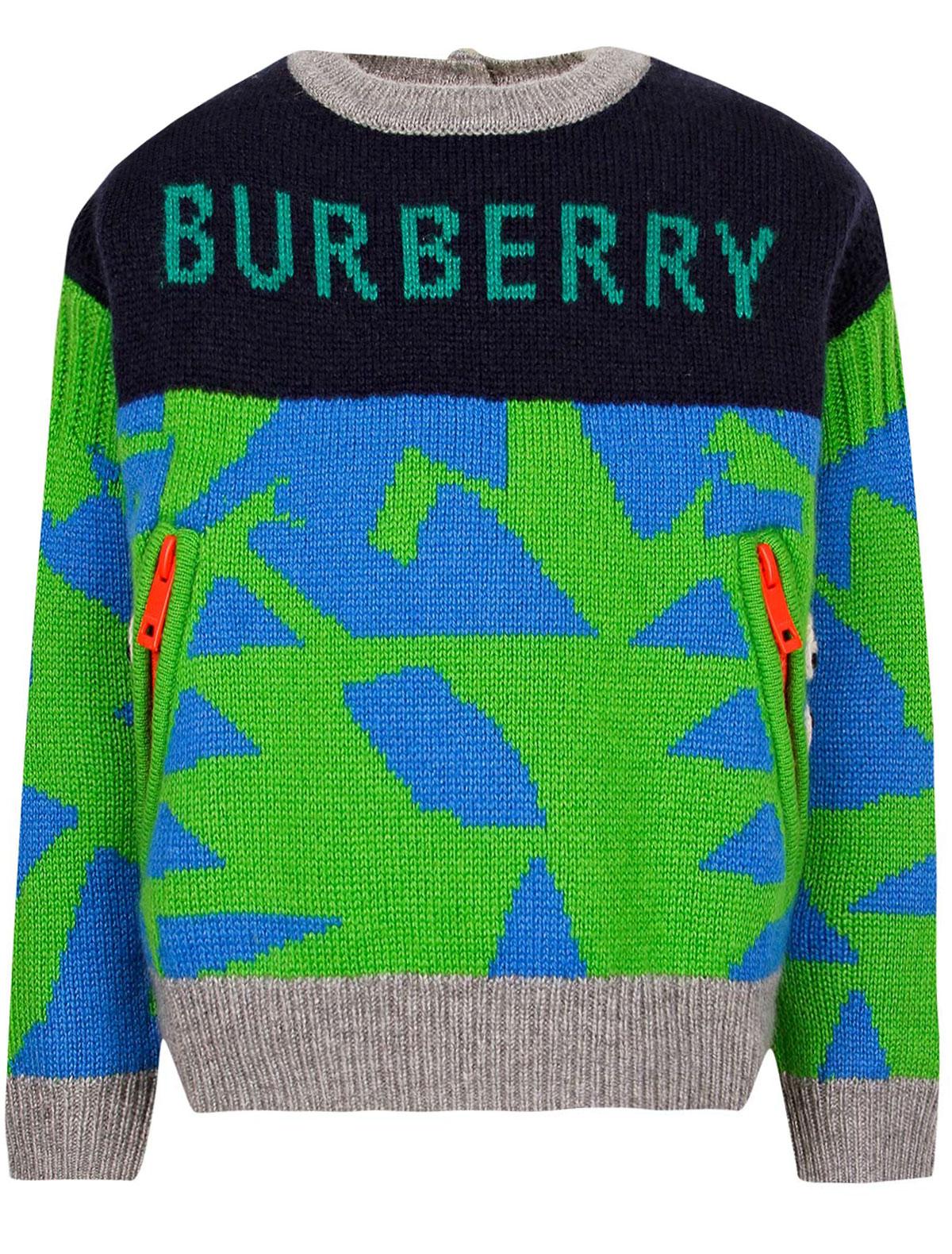 1894715, Джемпер Burberry, синий, Мужской, 1262519880521  - купить со скидкой