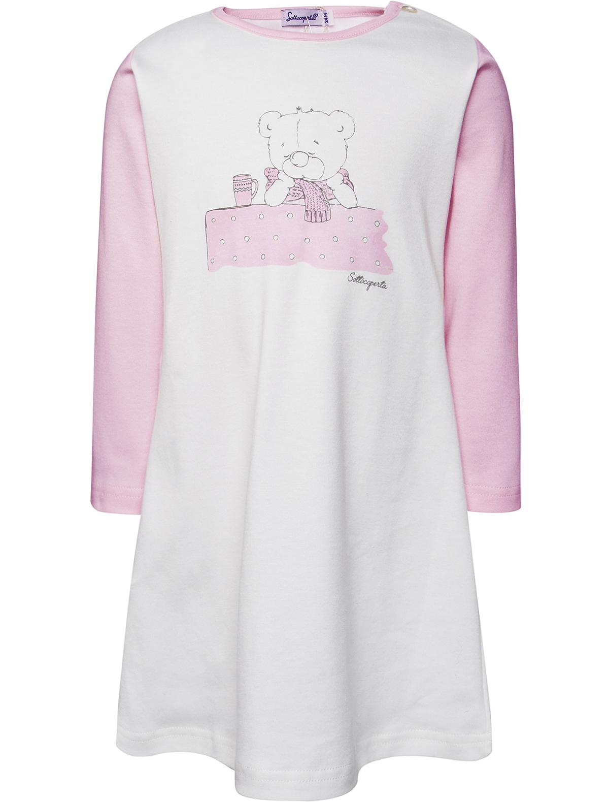 1929236, Ночная рубашка Sottocoperta, разноцветный, Женский, 3343009781189  - купить со скидкой