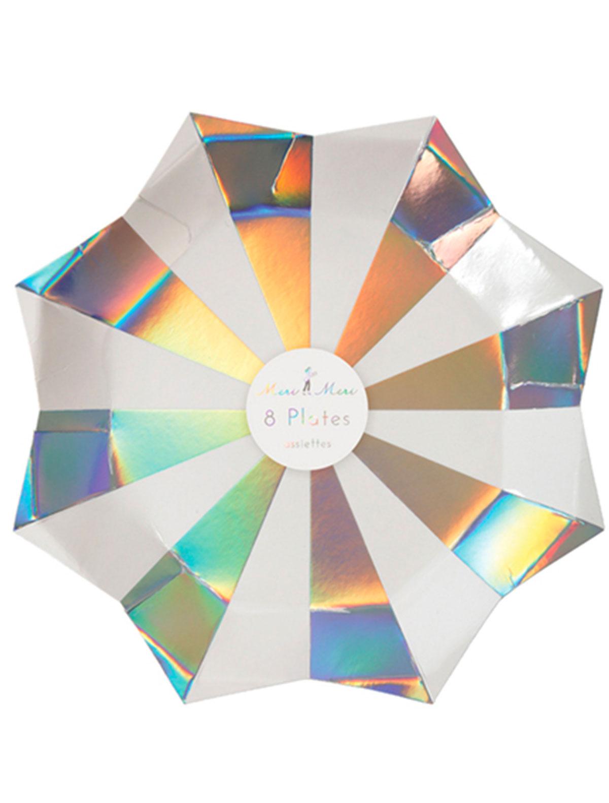 Набор посуды Meri Meri 2259900 разноцветного цвета