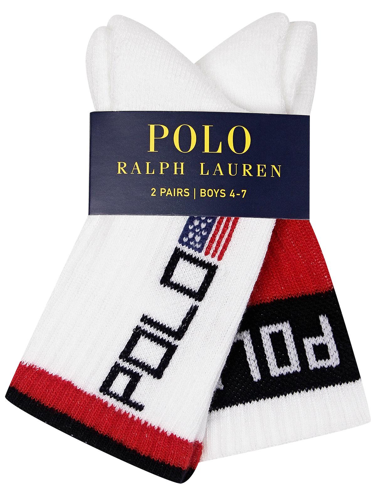 Купить 2140731, Носки Ralph Lauren, белый, Мужской, 1531219980016