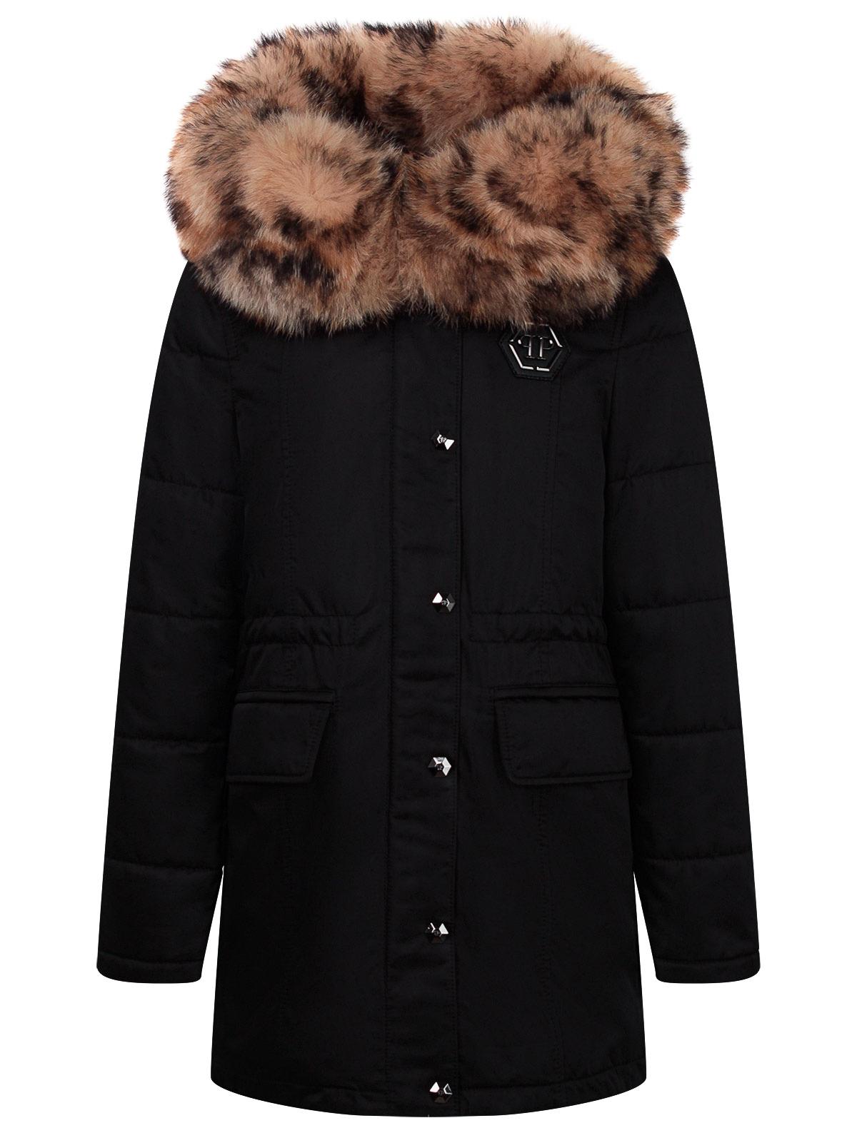 2242989, Куртка Philipp Plein, черный, Женский, 1074509082118  - купить со скидкой
