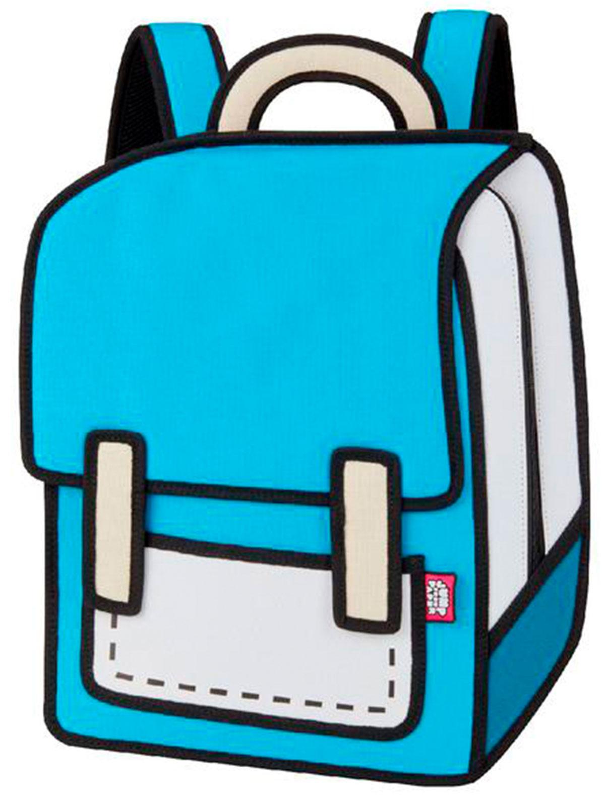 Купить 2220654, Рюкзак Jump From Paper, голубой, 1504528080036