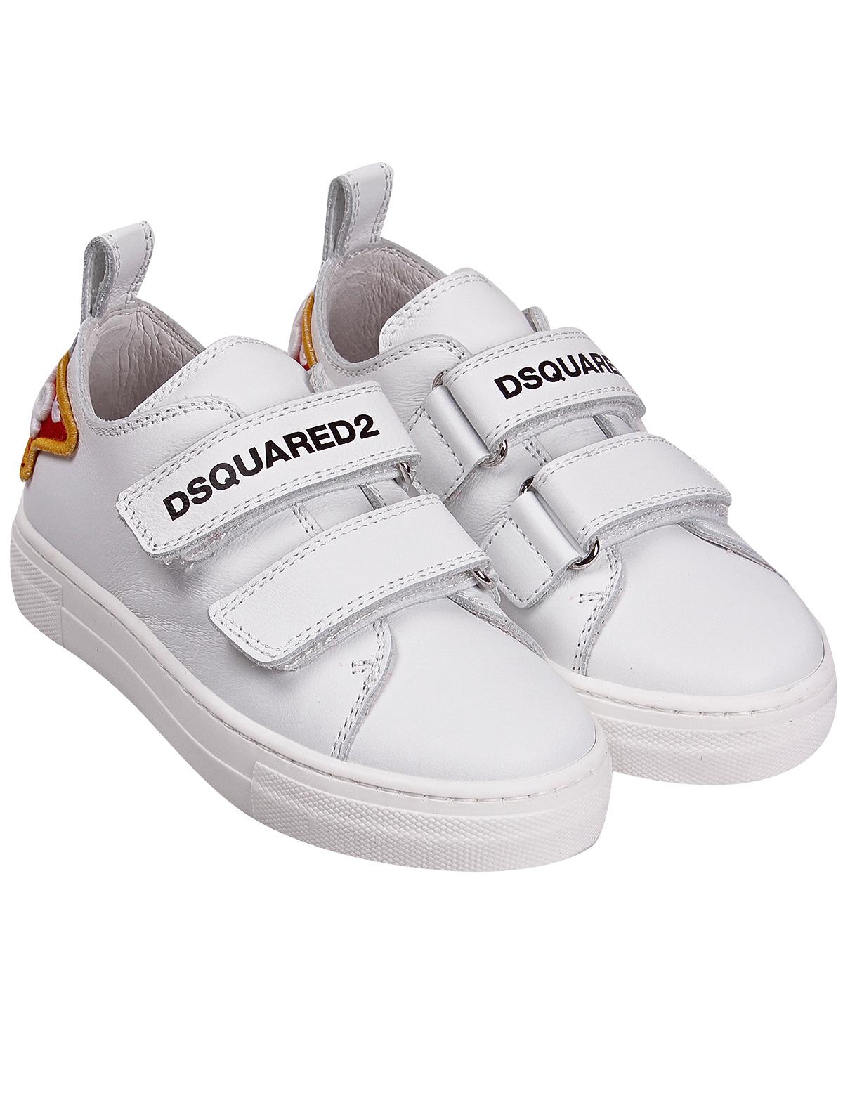 Кеды Dsquared2 белого цвета