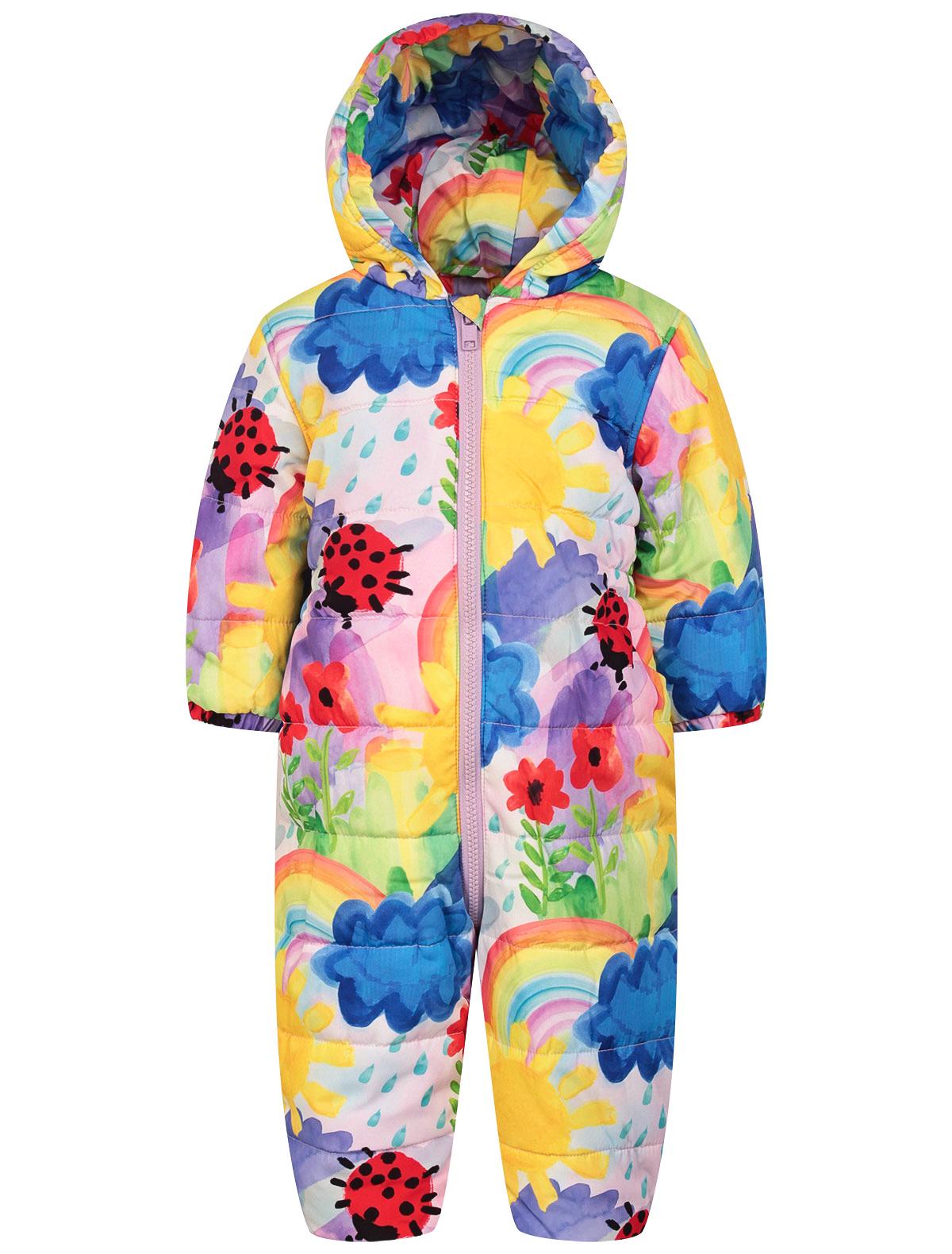 Купить 2238463, Комбинезон утепленный Stella McCartney, разноцветный, Женский, 1594509080292