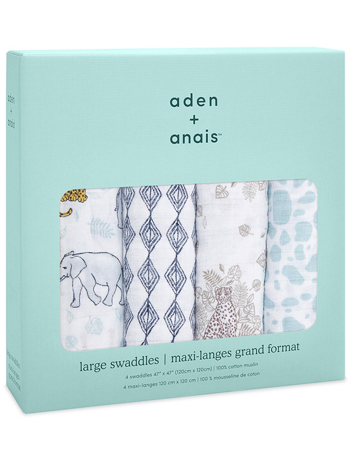 Купить 2235636, Пеленка ADEN + ANAIS, белый, 0804520080104