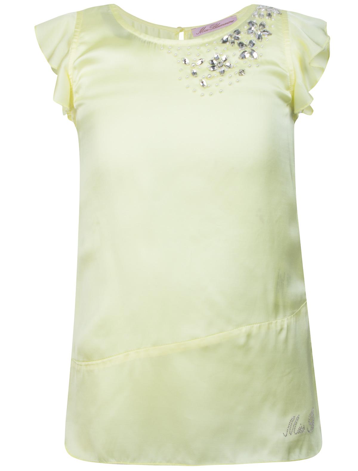 Купить 1861578, Топ Miss Blumarine, желтый, Женский, 0512809671386