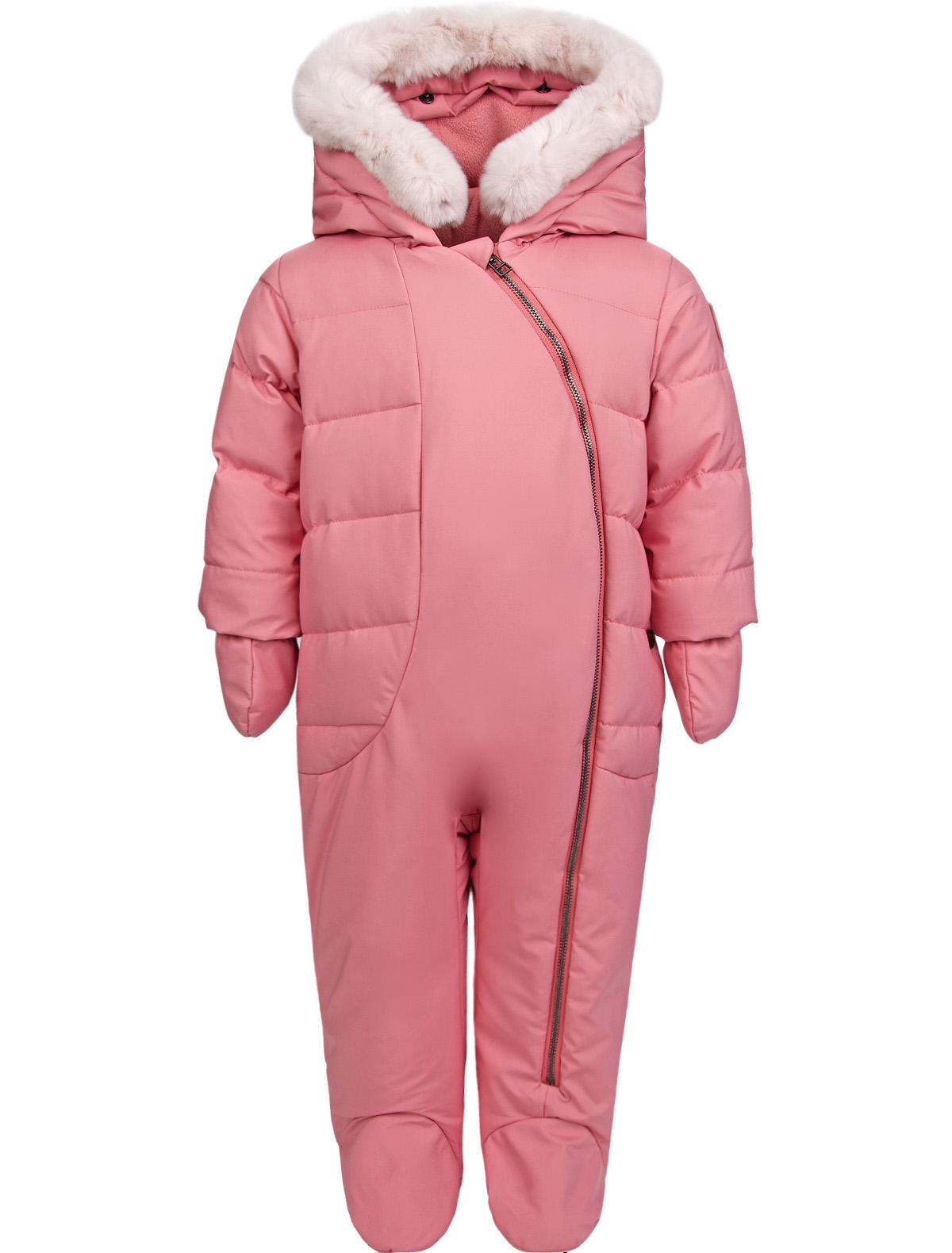 Купить 1911659, Комбинезон утепленный Dior, розовый, Женский, 1592609780012
