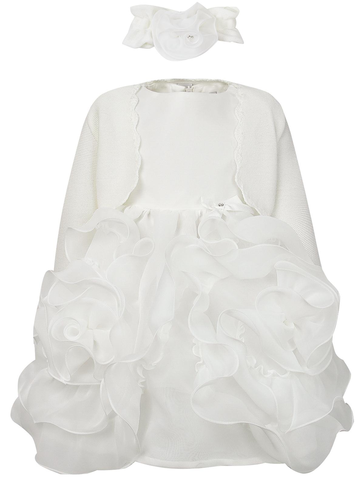 Купить 2107165, Комплект из 3 шт. Marlu, белый, Женский, 3031209980036