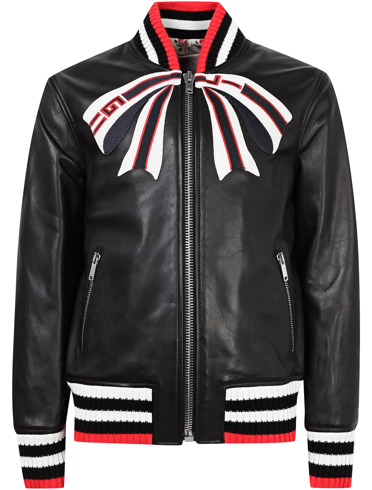Купить 1872920, Куртка GUCCI, черный, Женский, 1071108880145
