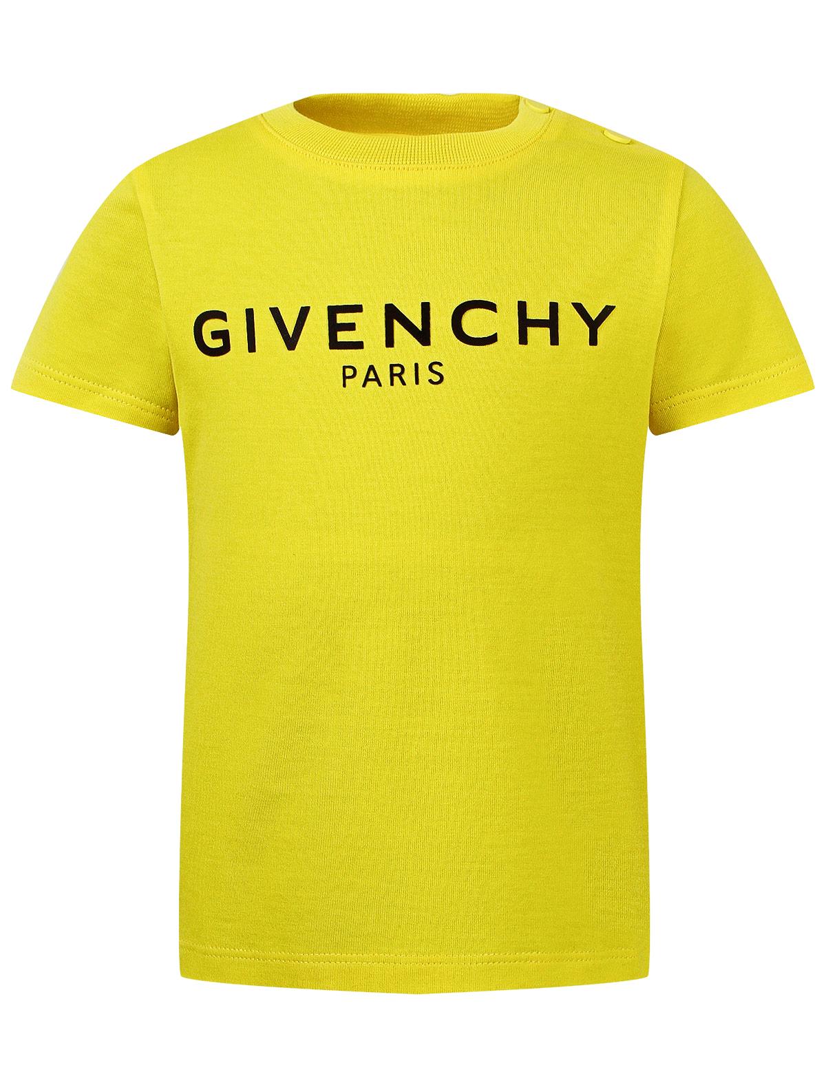 Купить 2160281, Футболка GIVENCHY, желтый, Мужской, 1132819070147