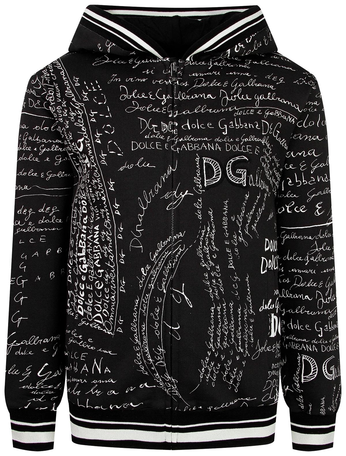 Купить 2263978, Толстовка Dolce & Gabbana, черный, Мужской, 0074519083878