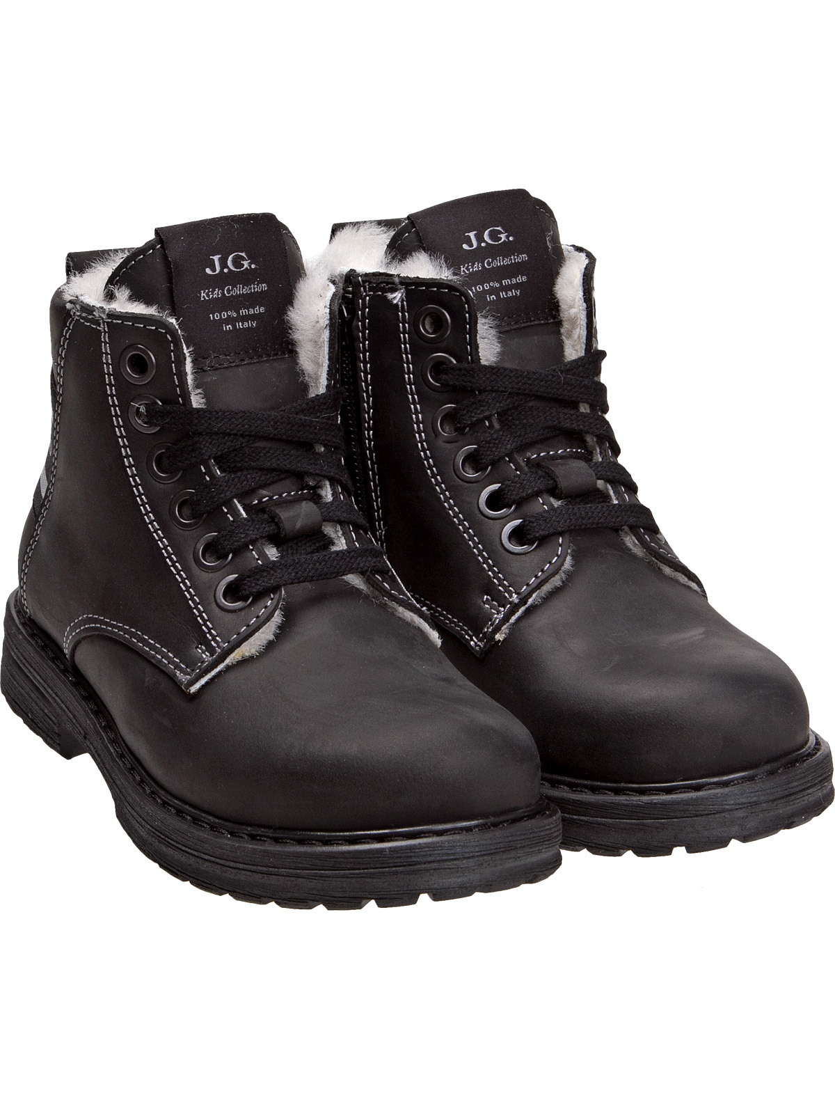 Купить 1916636, Ботинки John Galliano, черный, Мужской, 2031119780062