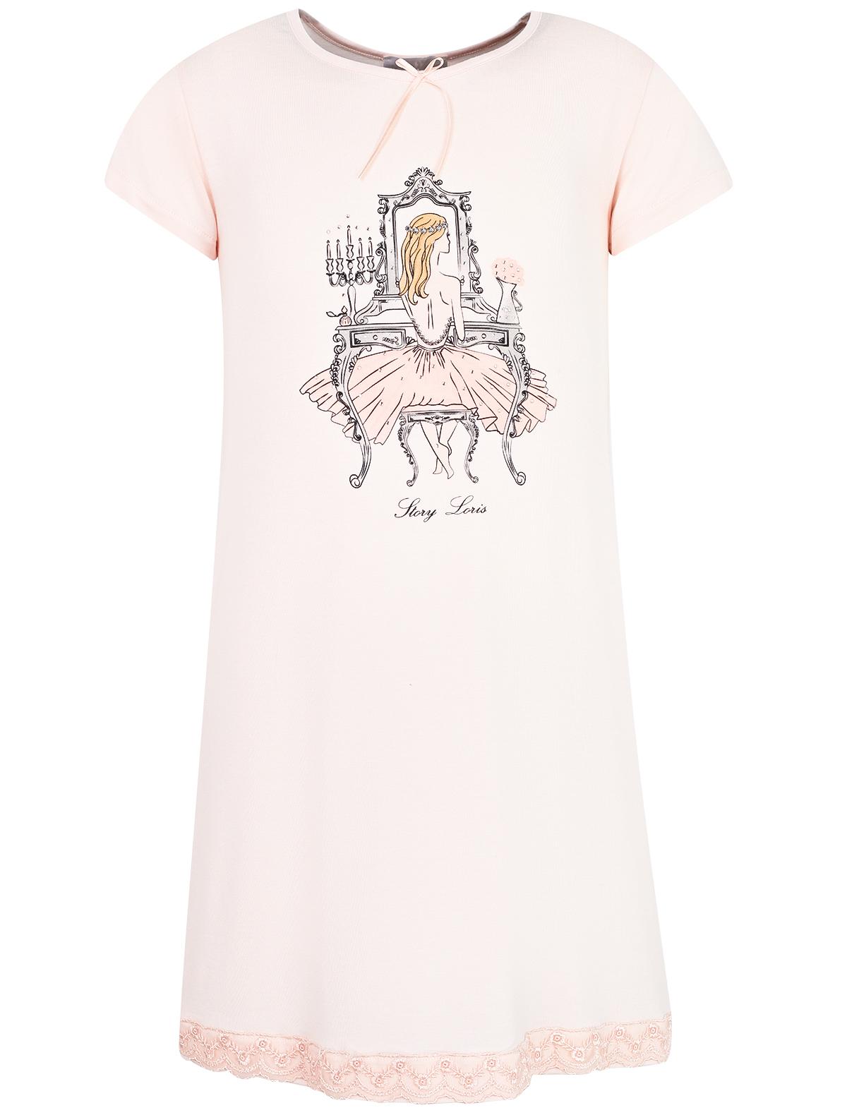 Купить 1995392, Ночная рубашка Story Loris, розовый, Женский, 3342609970719