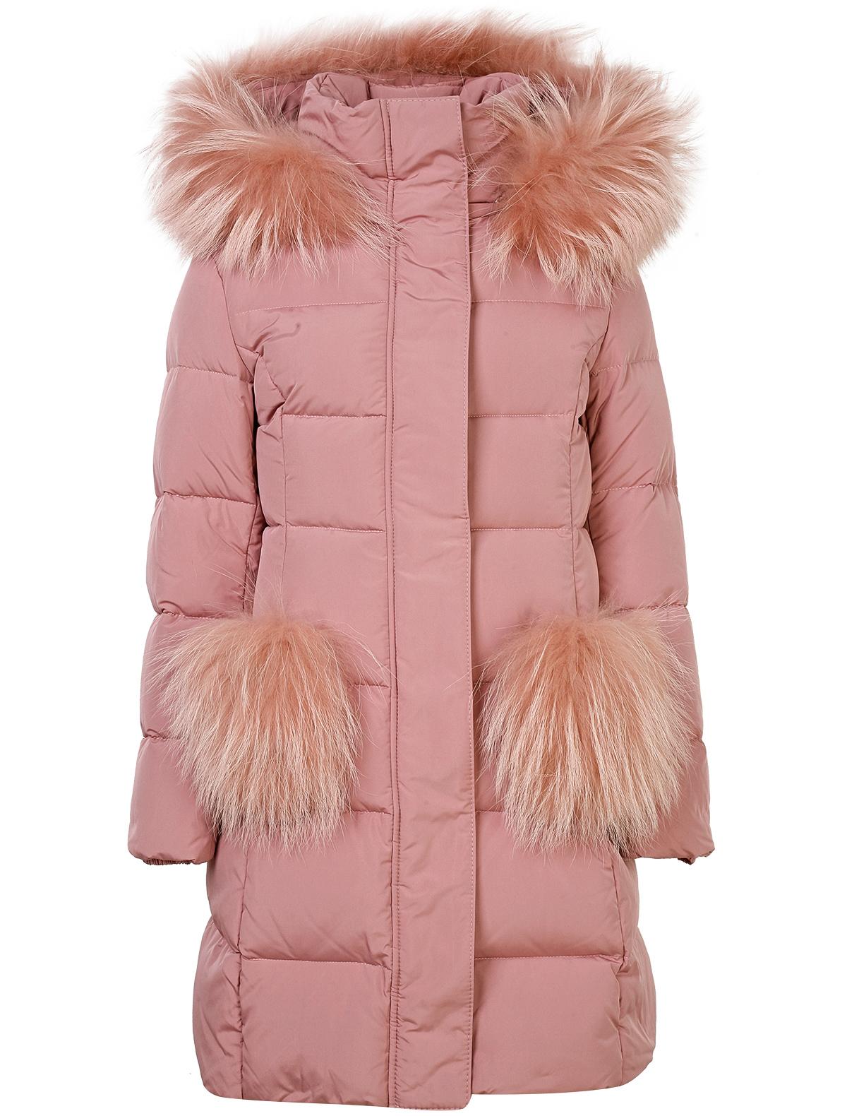 Купить 1880303, Пальто Jums Kids, розовый, Женский, 1122609880162