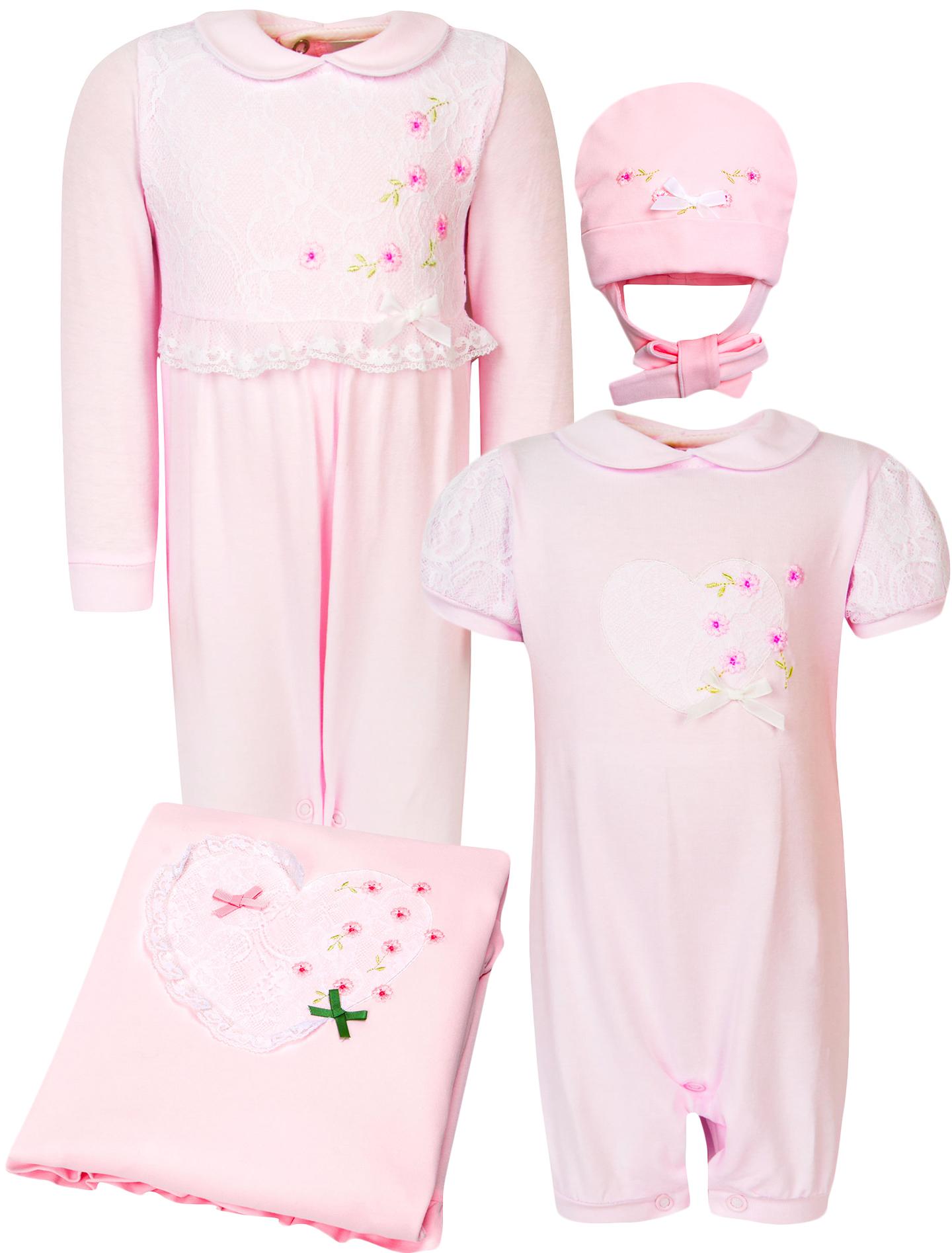 Купить 1928577, Комплект из 4 шт. Stella Kids, розовый, Женский, 3044109770096