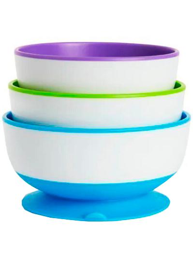 Купить 2215577, Набор посуды Munchkin, разноцветный, 2294528070647