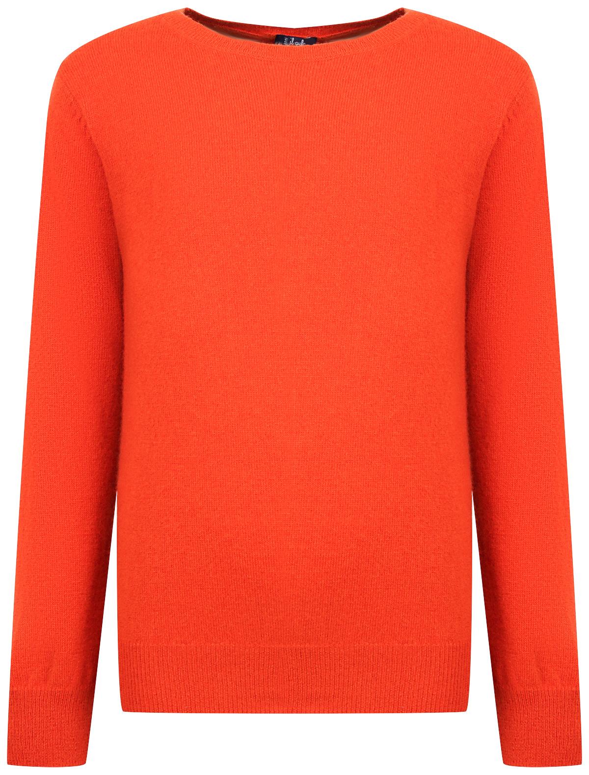 Купить 2033450, Джемпер Il Gufo, оранжевый, Мужской, 1262419980512