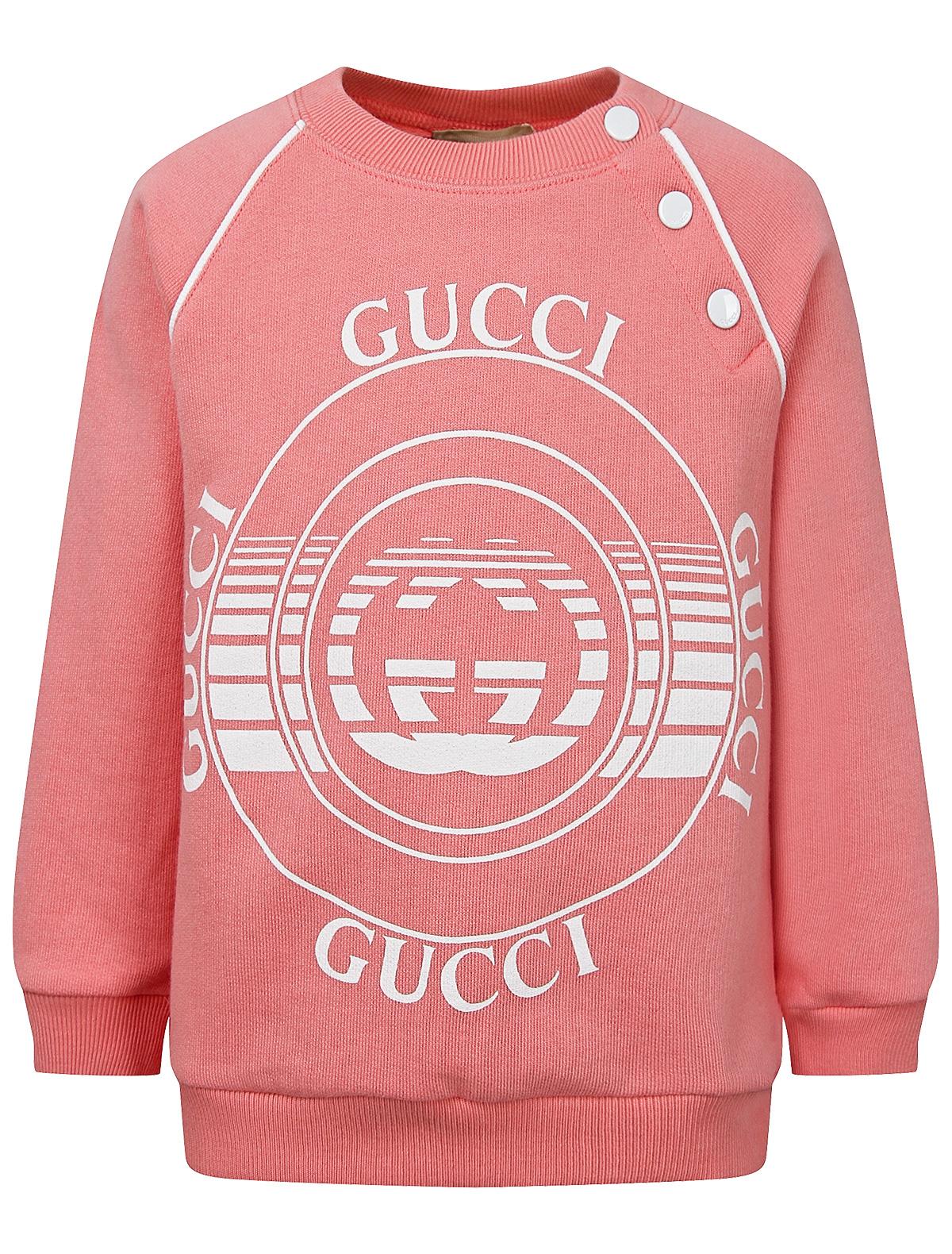 Купить 2296580, Свитшот GUCCI, розовый, Женский, 0084509172819