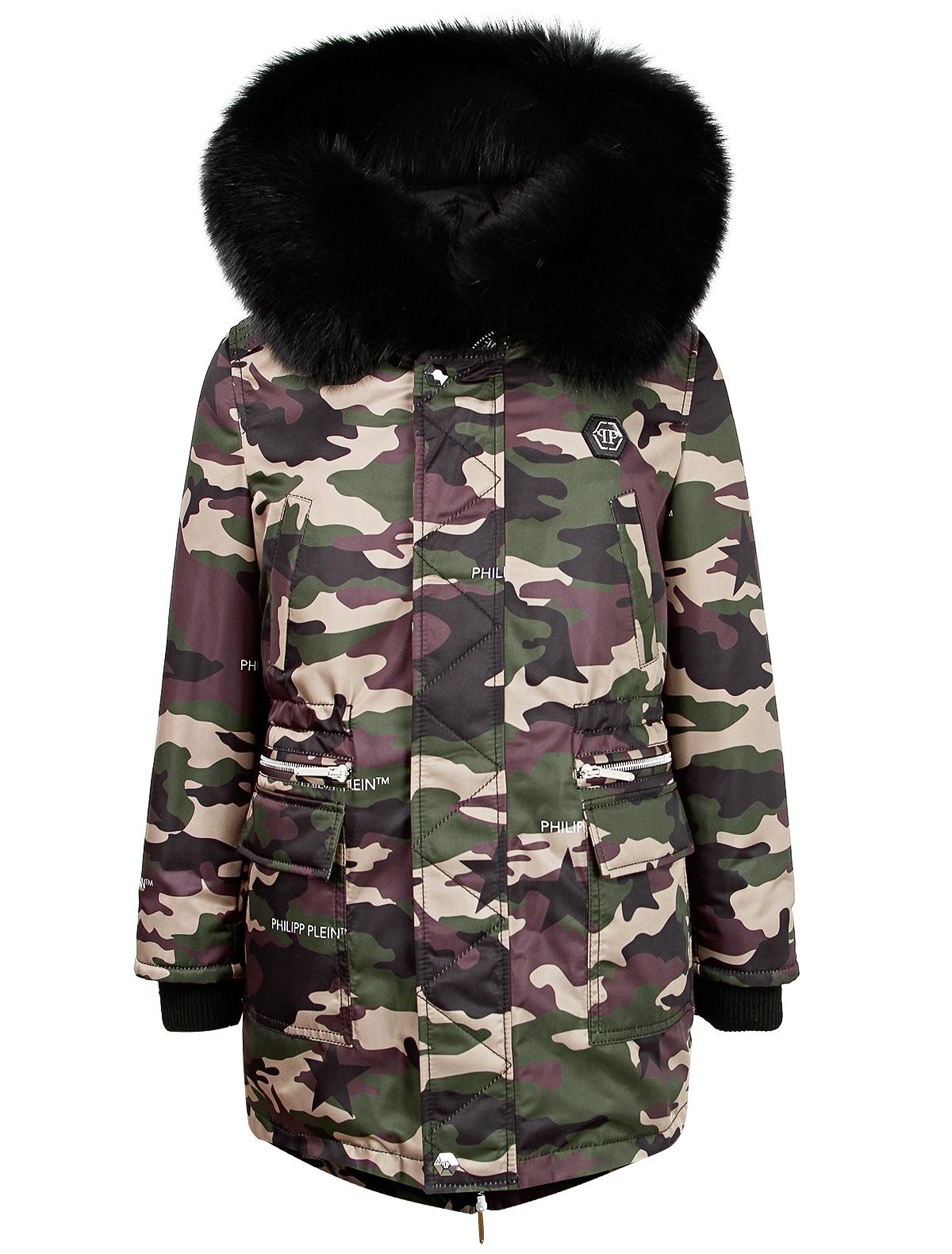 Купить 2136104, Куртка Philipp Plein, разноцветный, Мужской, 1072319980174