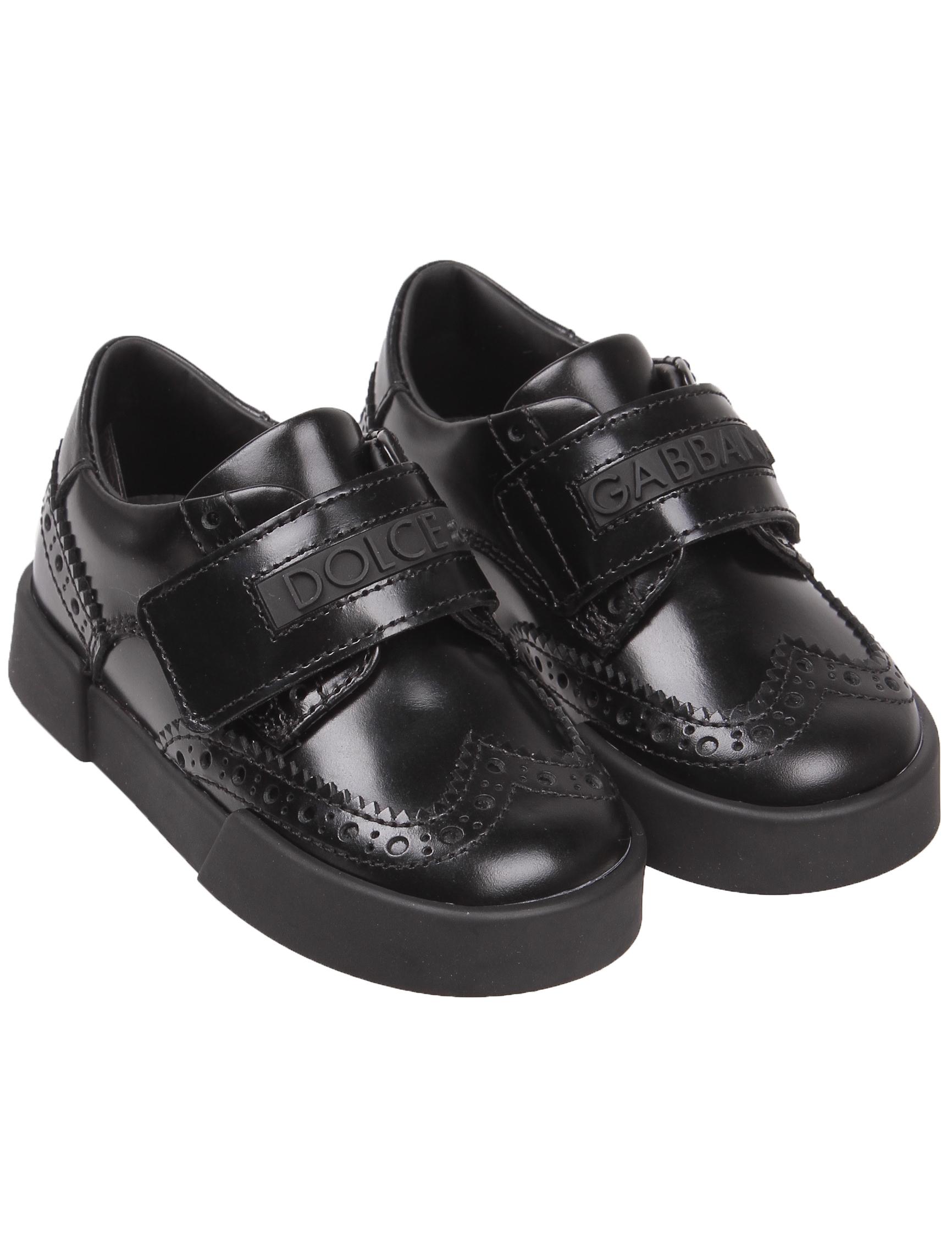 Купить 2044375, Ботинки Dolce & Gabbana, черный, Мужской, 2031119980851