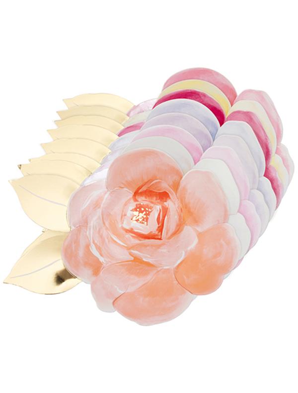 Набор посуды Meri Meri 2273040 розового цвета