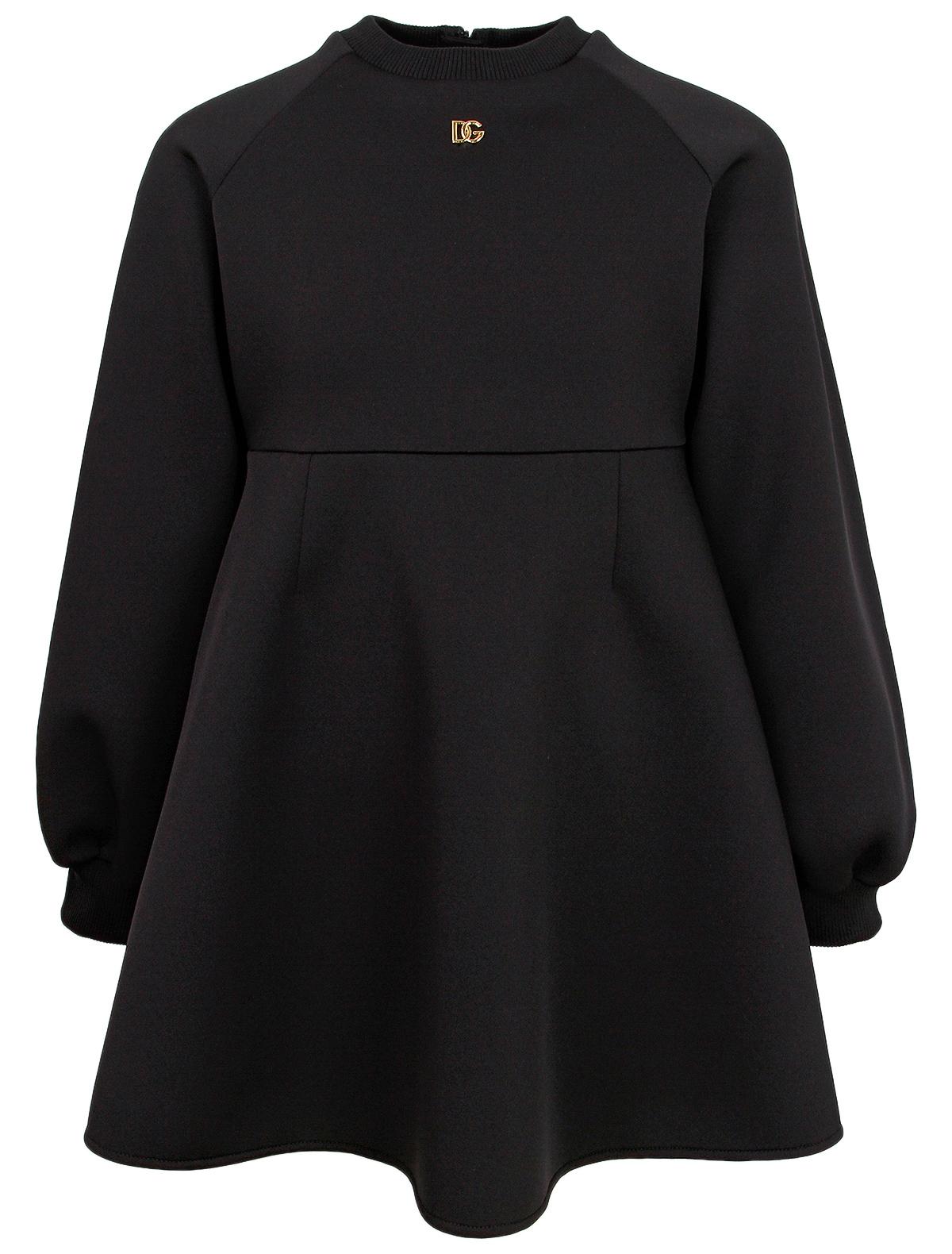 Купить 2357044, Платье Dolce & Gabbana, черный, Женский, 1054609185124
