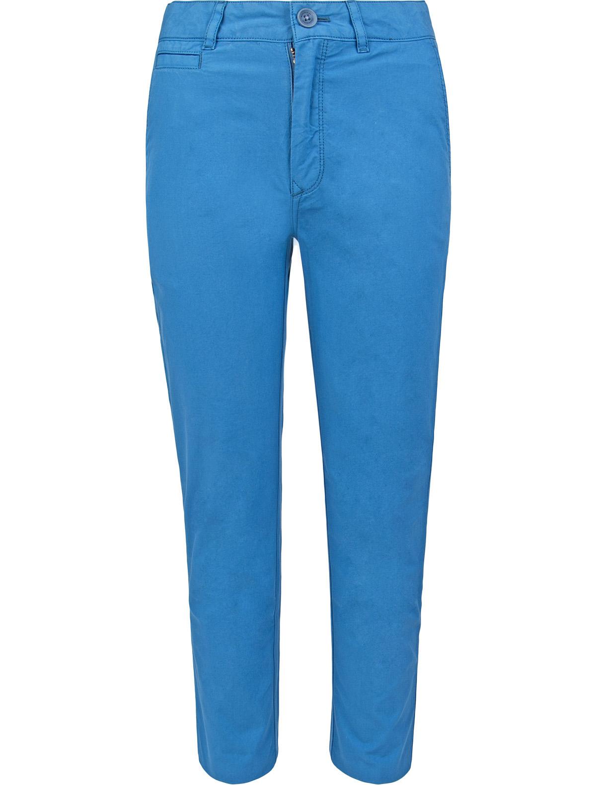 Купить 1875358, Брюки Burberry, голубой, Мужской, 1080319770046