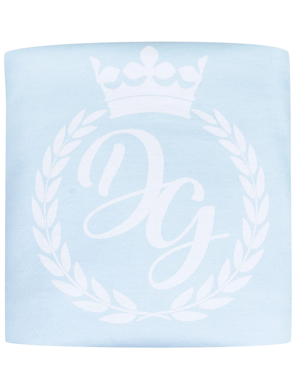 Одеяло Dolce & Gabbana 2232160 голубого цвета