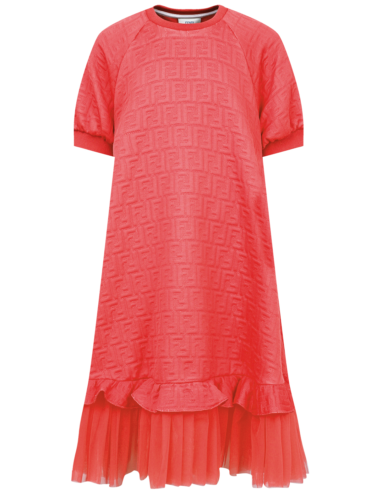 Купить 2169061, Платье Fendi, розовый, Женский, 1054509070896