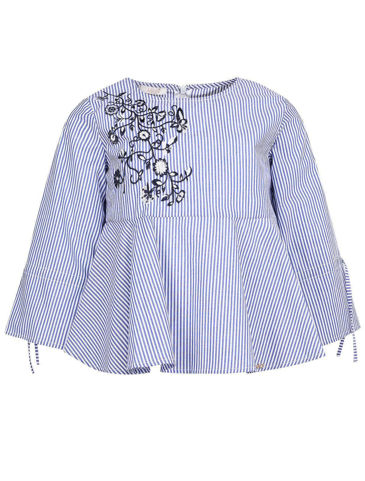 1865065, Блуза Liu Jo Junior, синий, Женский, 1031409870177  - купить со скидкой