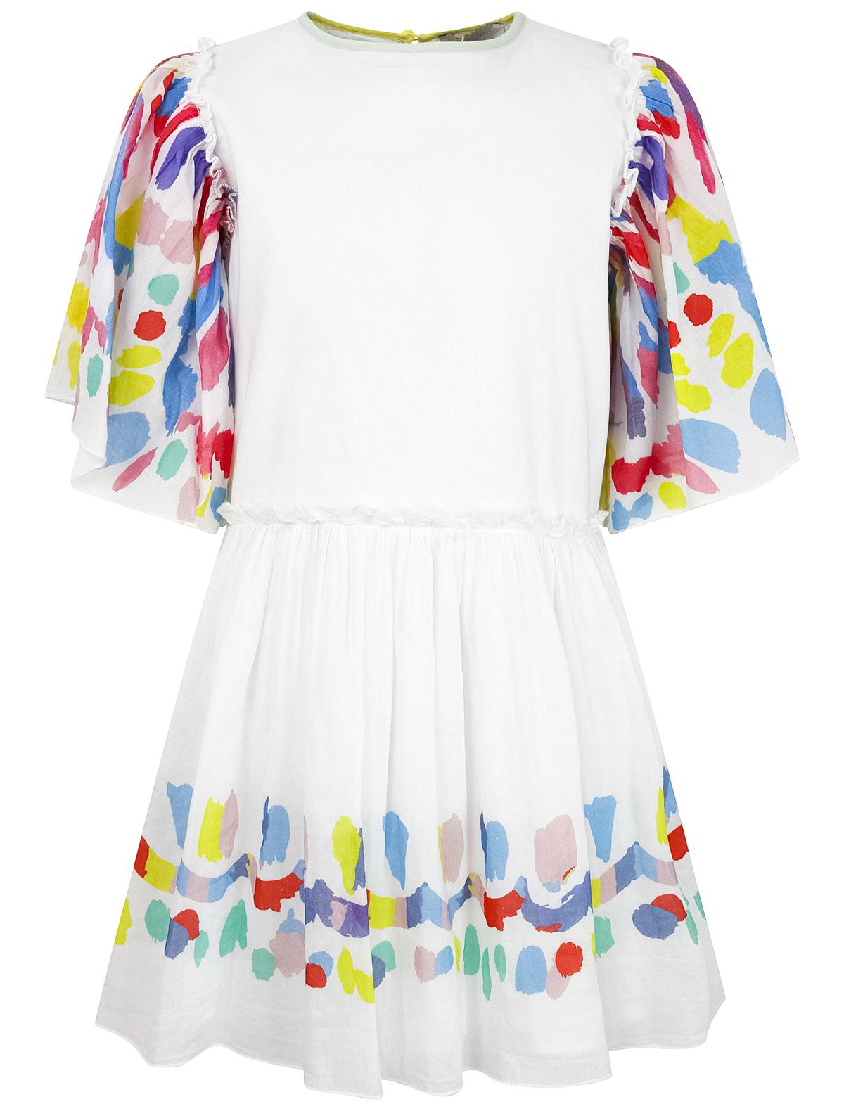 Купить 2279989, Платье Stella McCartney, белый, Женский, 1054509173504