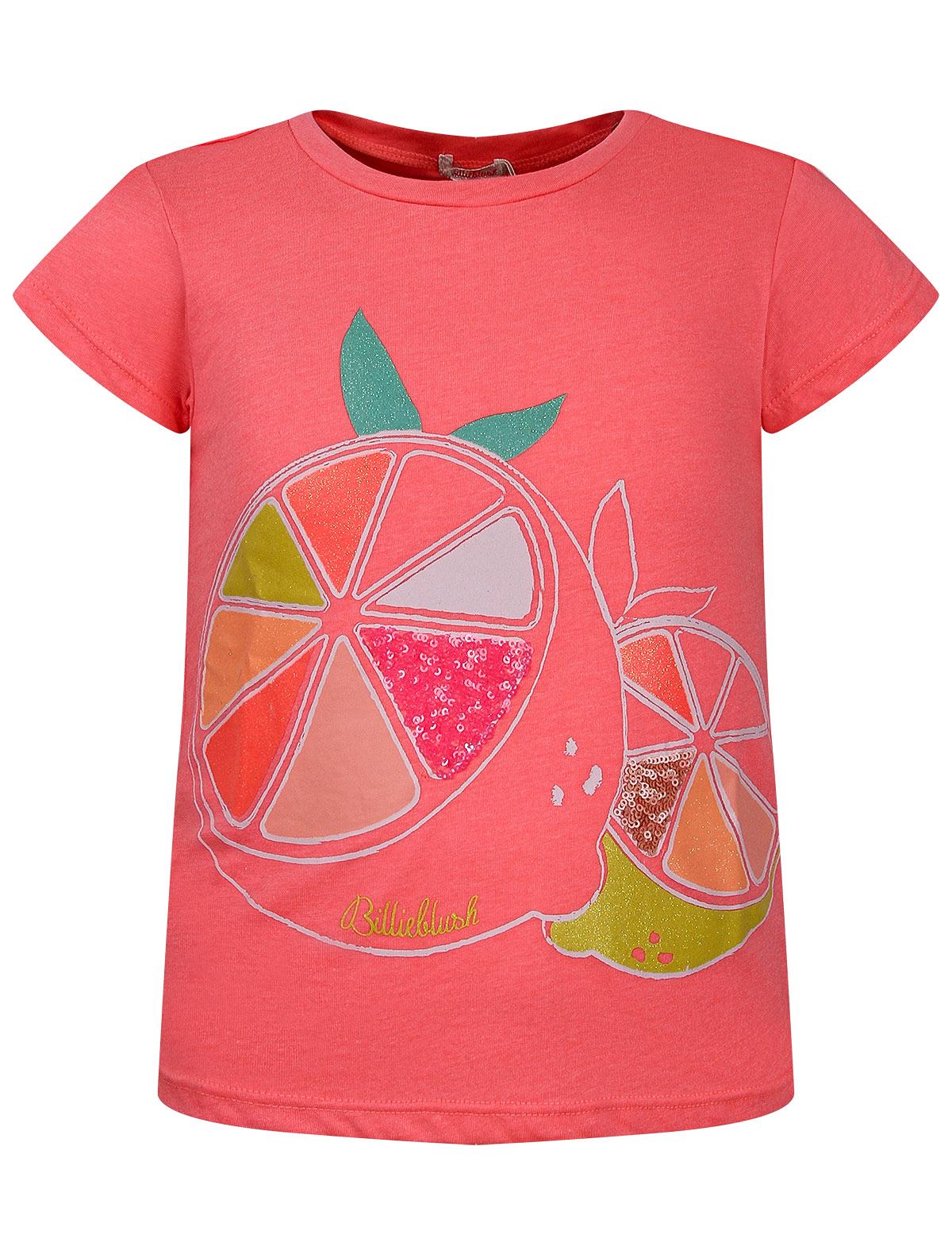 Купить 2284378, Футболка Billieblush, розовый, Женский, 1134509175422