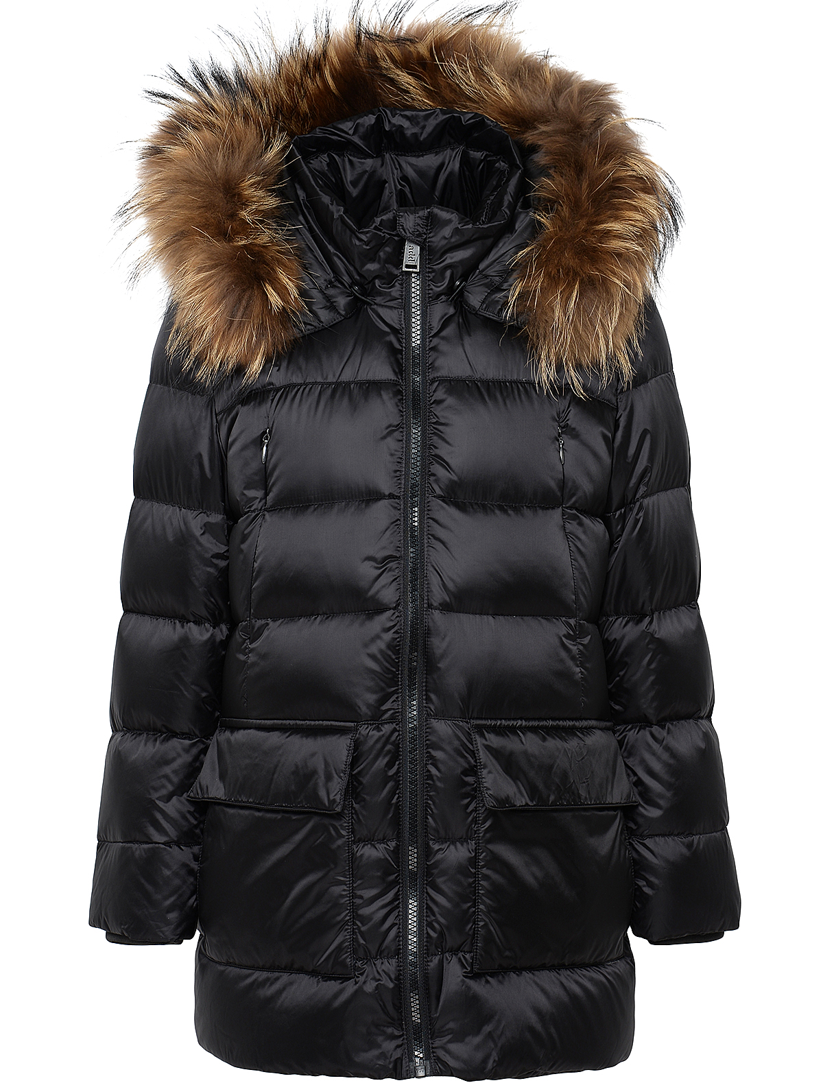 1879542, Пальто ADD, черный, Женский, 1121109780156  - купить со скидкой