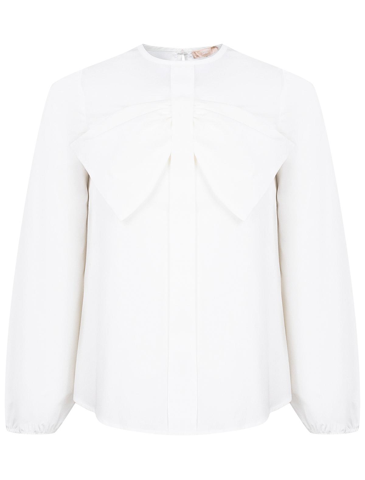 Купить 2139756, Блуза ELISABETTA FRANCHI, белый, Женский, 1031209980441