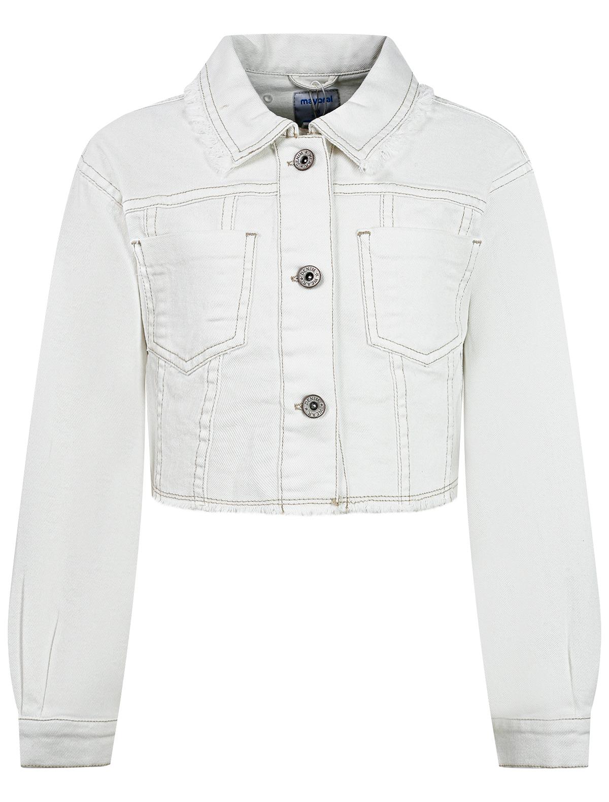 Купить 2299118, Куртка Mayoral, белый, Женский, 1074509172925