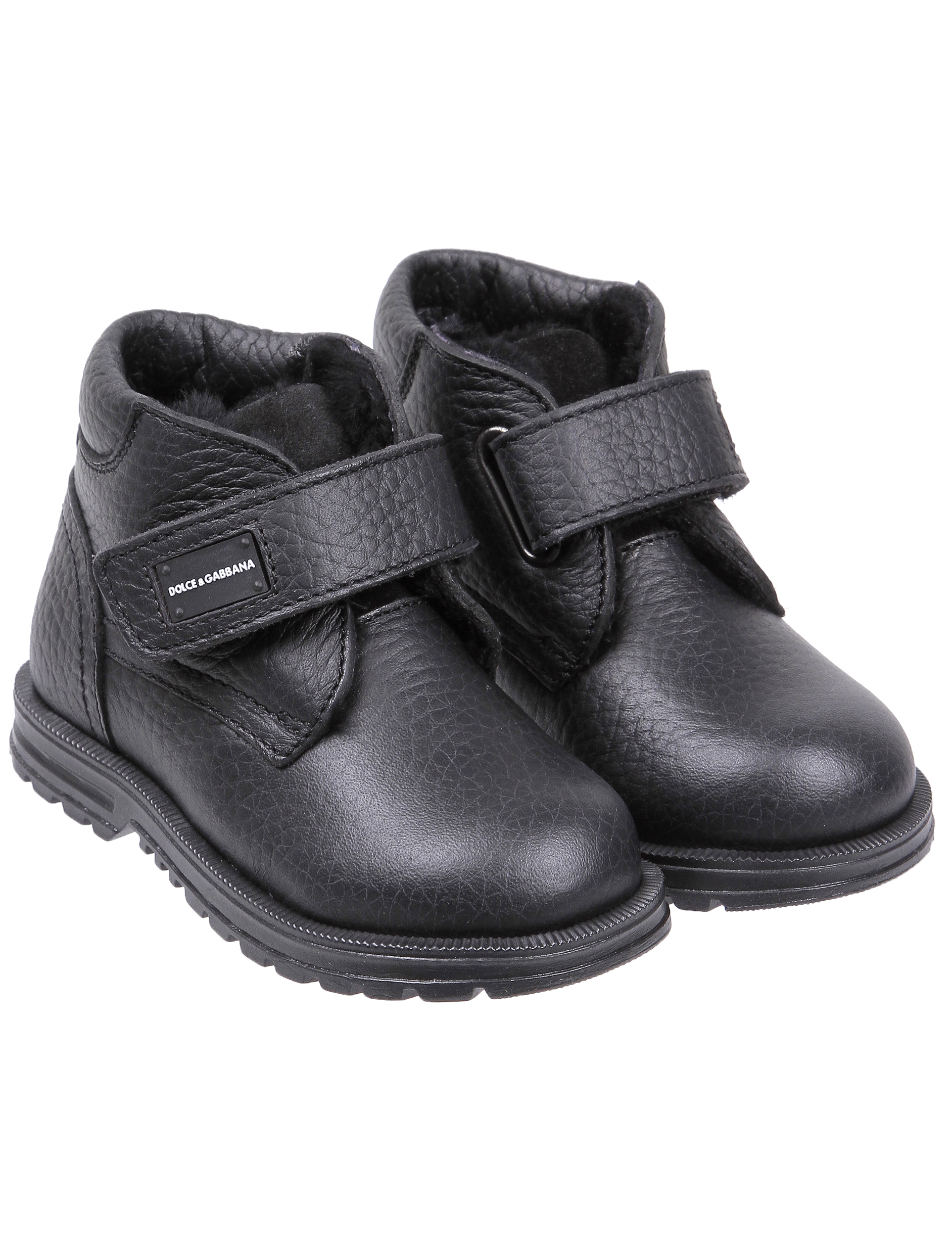 1845463, Ботинки Dolce & Gabbana, черный, Мужской, 2031119880212  - купить со скидкой