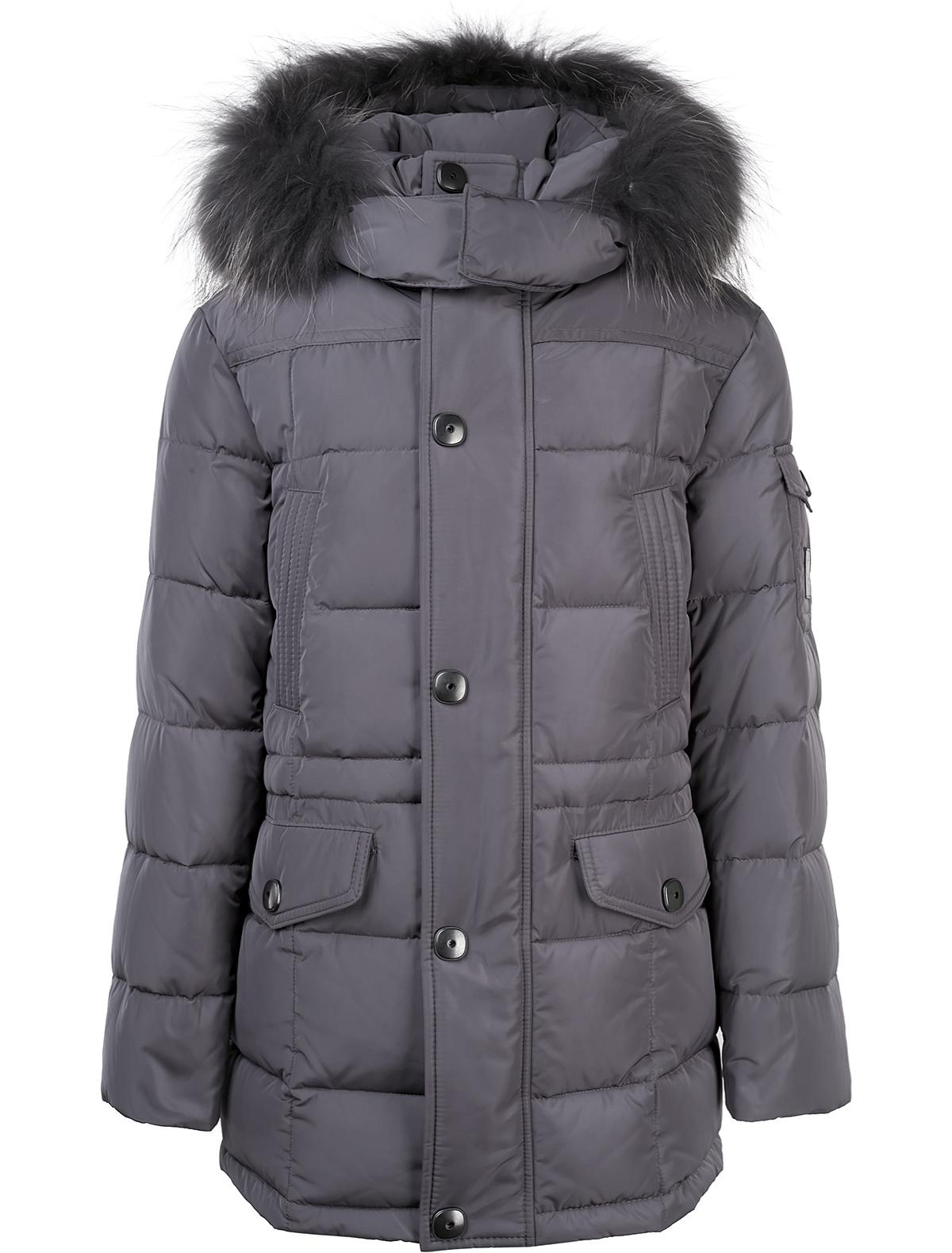 Купить 1874196, Куртка Jums Kids, серый, Мужской, 1071619780323