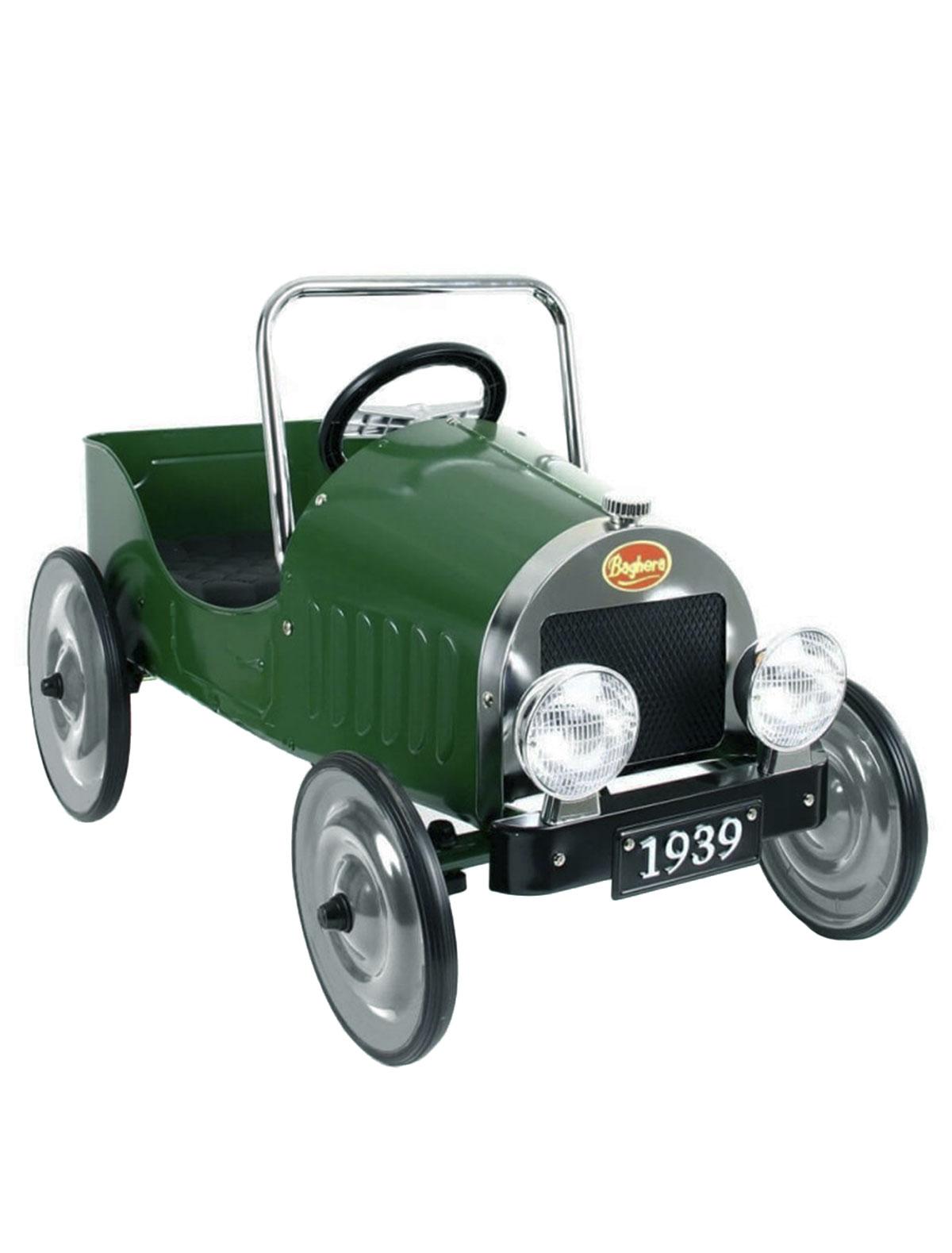 Купить 2213841, Машинка детская Baghera, зеленый, 7684520070076