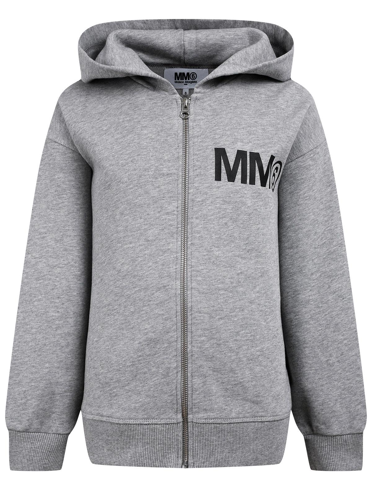 Купить 2345727, Толстовка MM6 Maison Margiela, серый, 0074529180703
