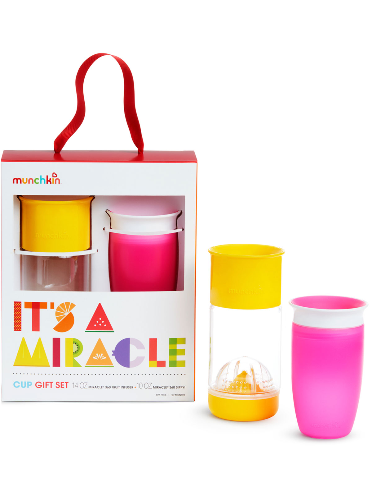 Купить 2216062, Бутылочка Munchkin, разноцветный, 5114528072861