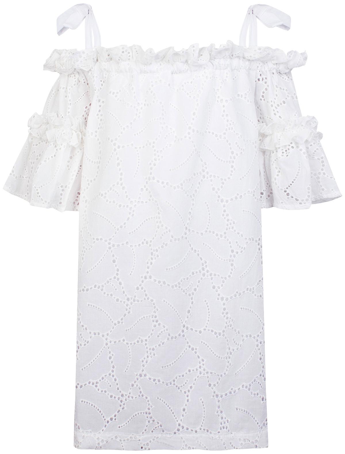 Купить 1868060, Платье MSGM, белый, Женский, 1051209870870