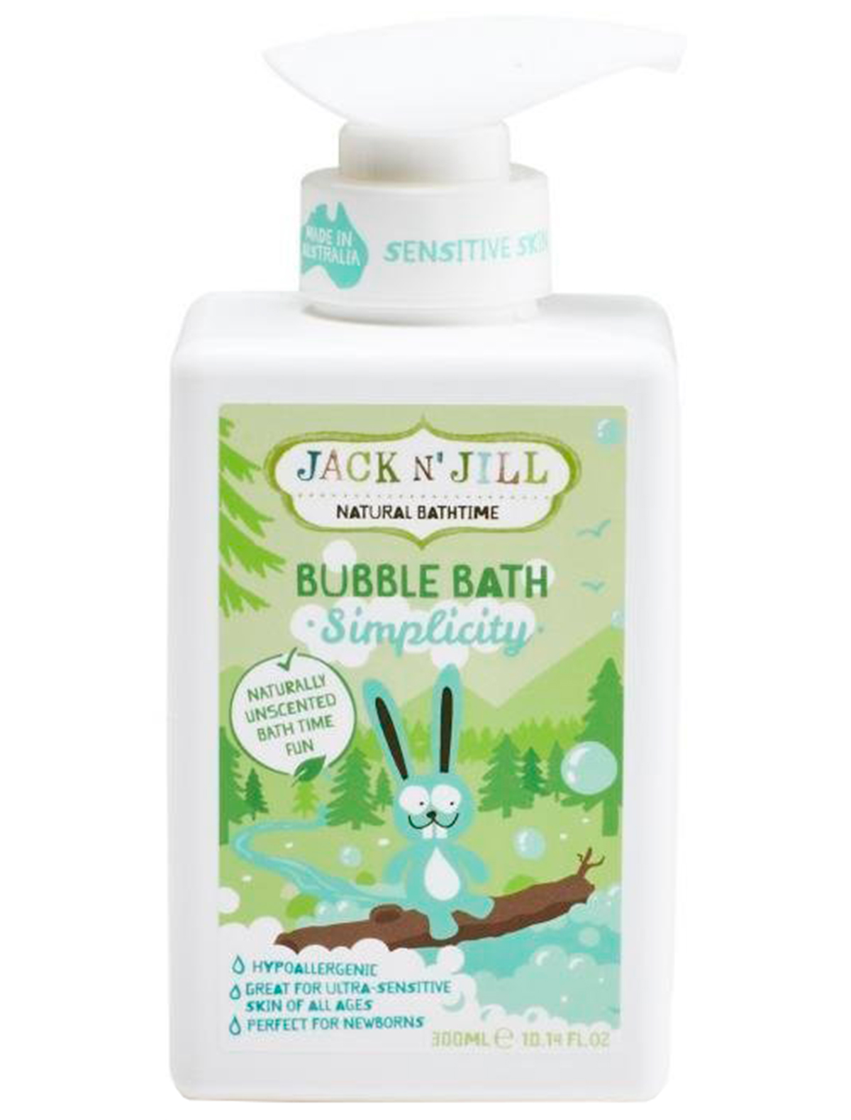 """Пена для ванной Jack N"""" Jill 2234959 белого цвета"""