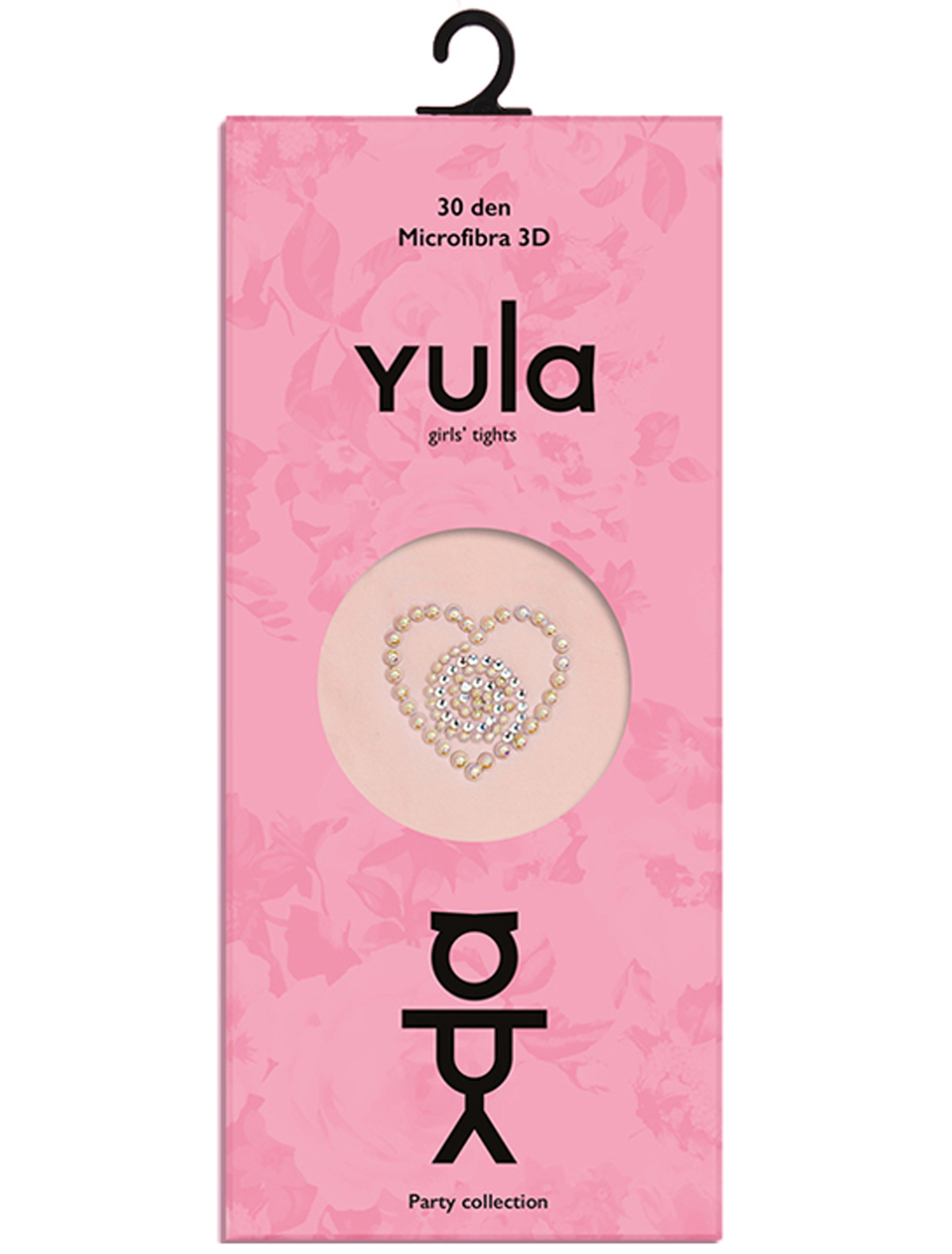 Купить 1898754, Колготки YULA, розовый, Женский, 1292609880483