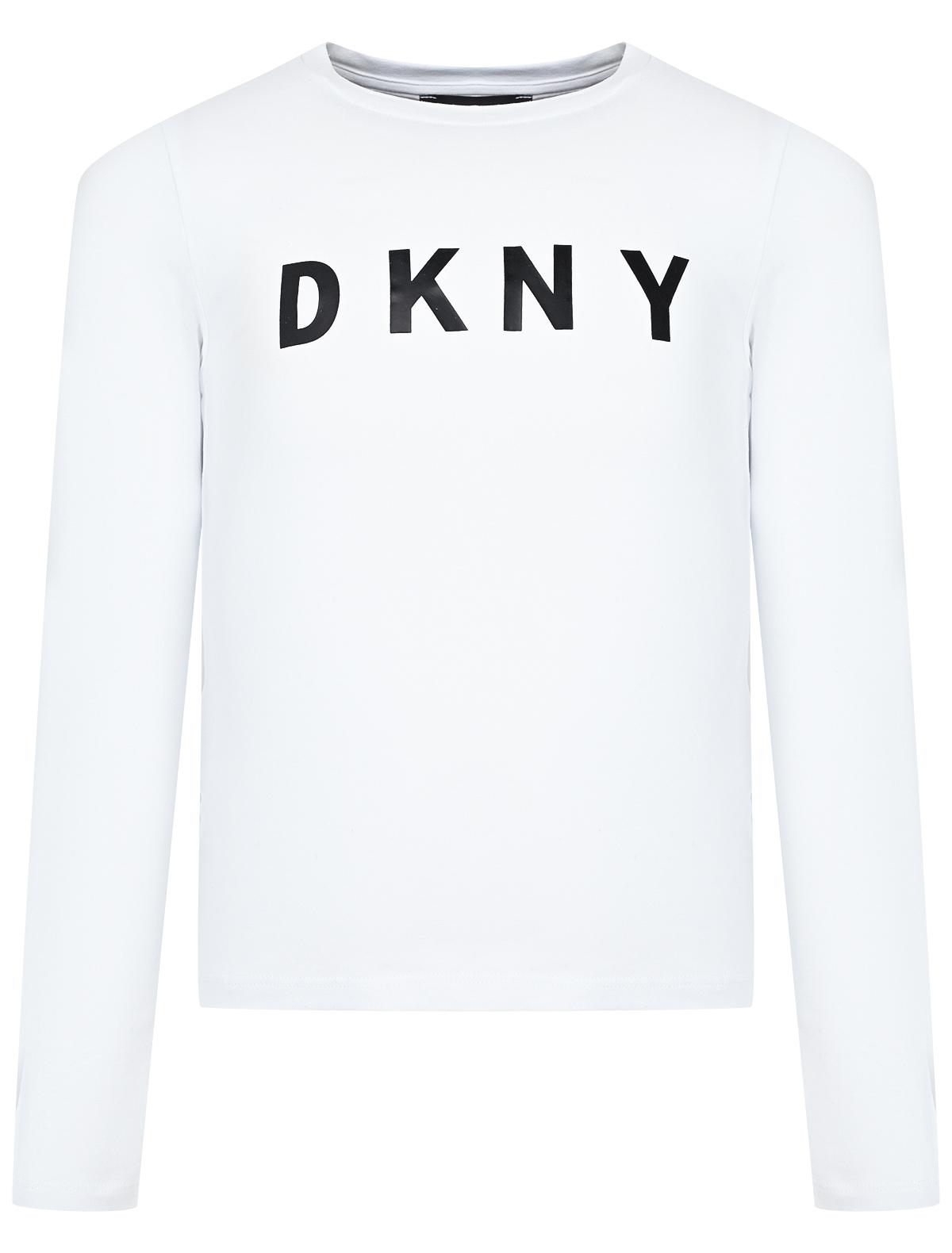 Купить 2033286, Лонгслив DKNY, белый, Женский, 4161209980664