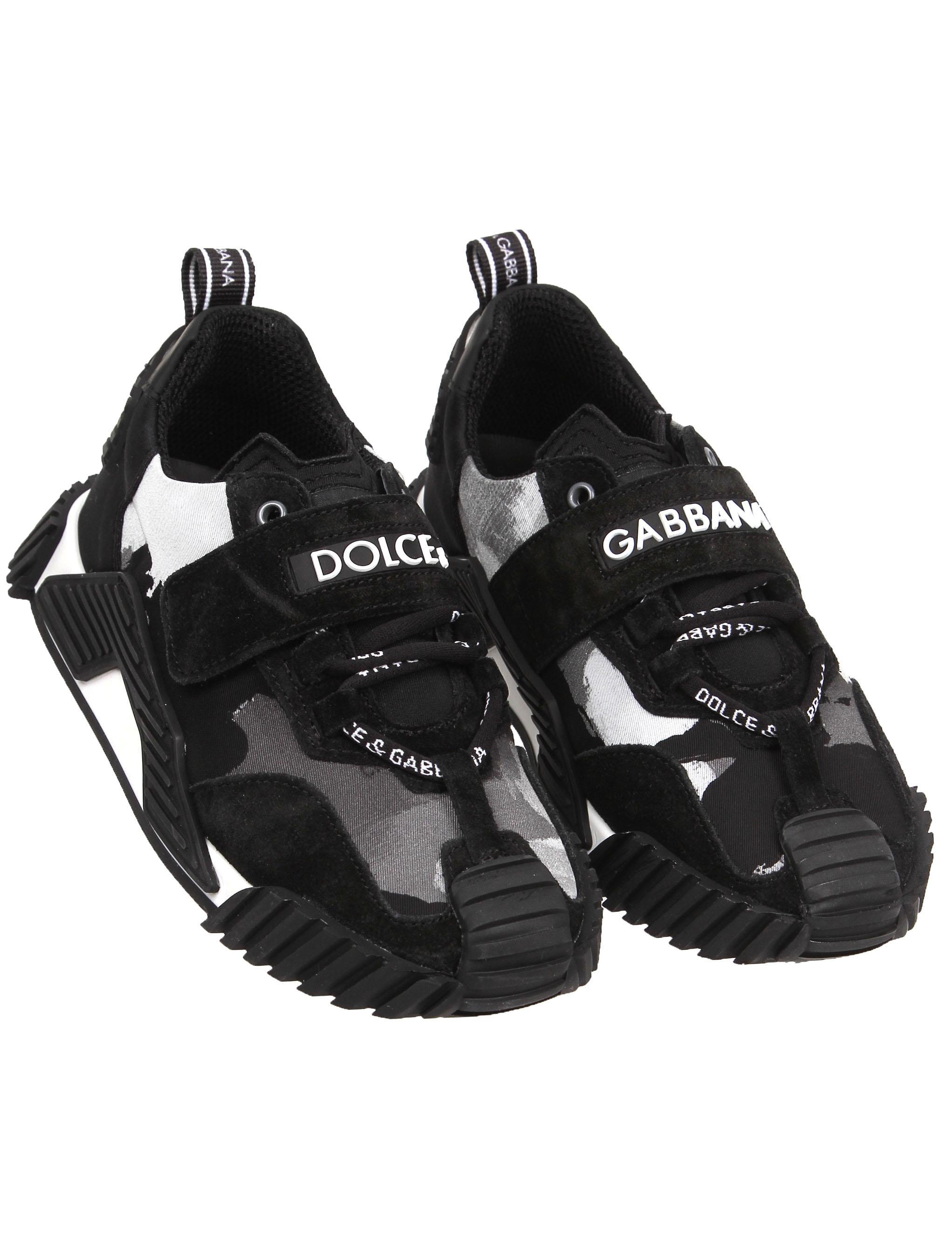 Кроссовки Dolce & Gabbana черного цвета