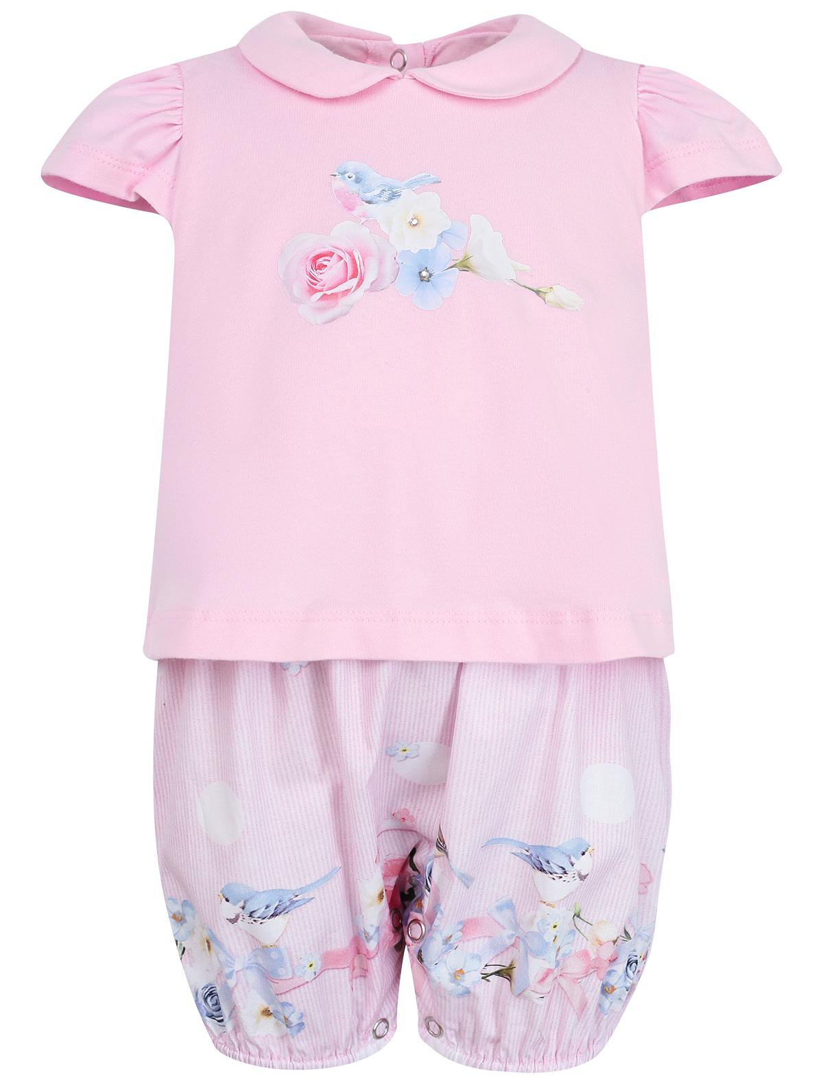 Купить 1990308, Боди Lapin House, розовый, Женский, 1252609970157