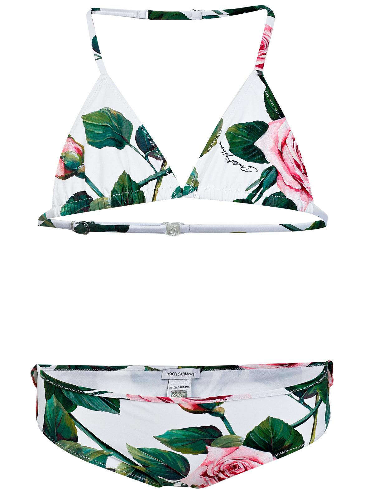Купить 2150956, Купальник Dolce & Gabbana, белый, Женский, 0881209070038